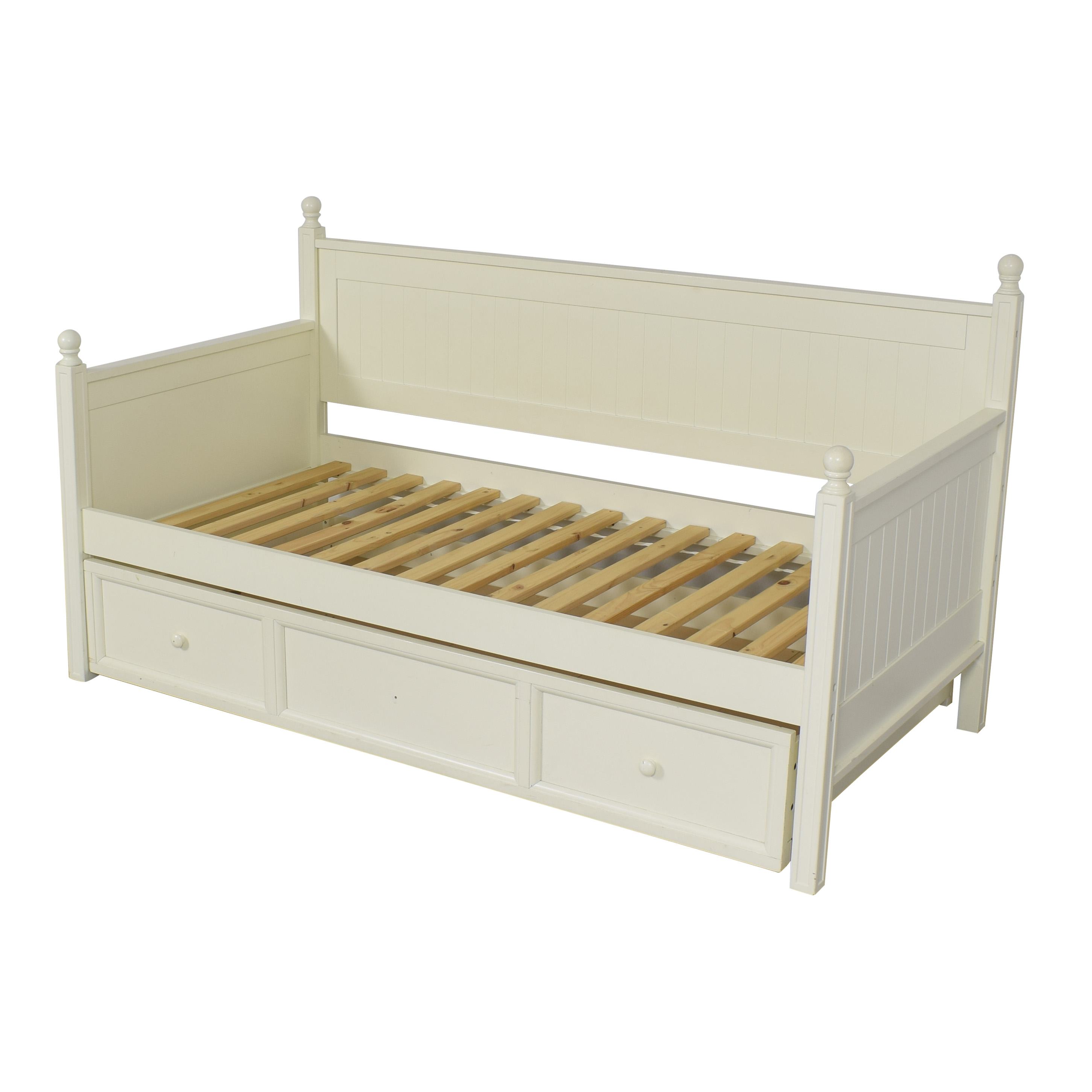 Pottery Barn Teen Pottery Barn Teen Hampton Twin Daybed and Trundle white