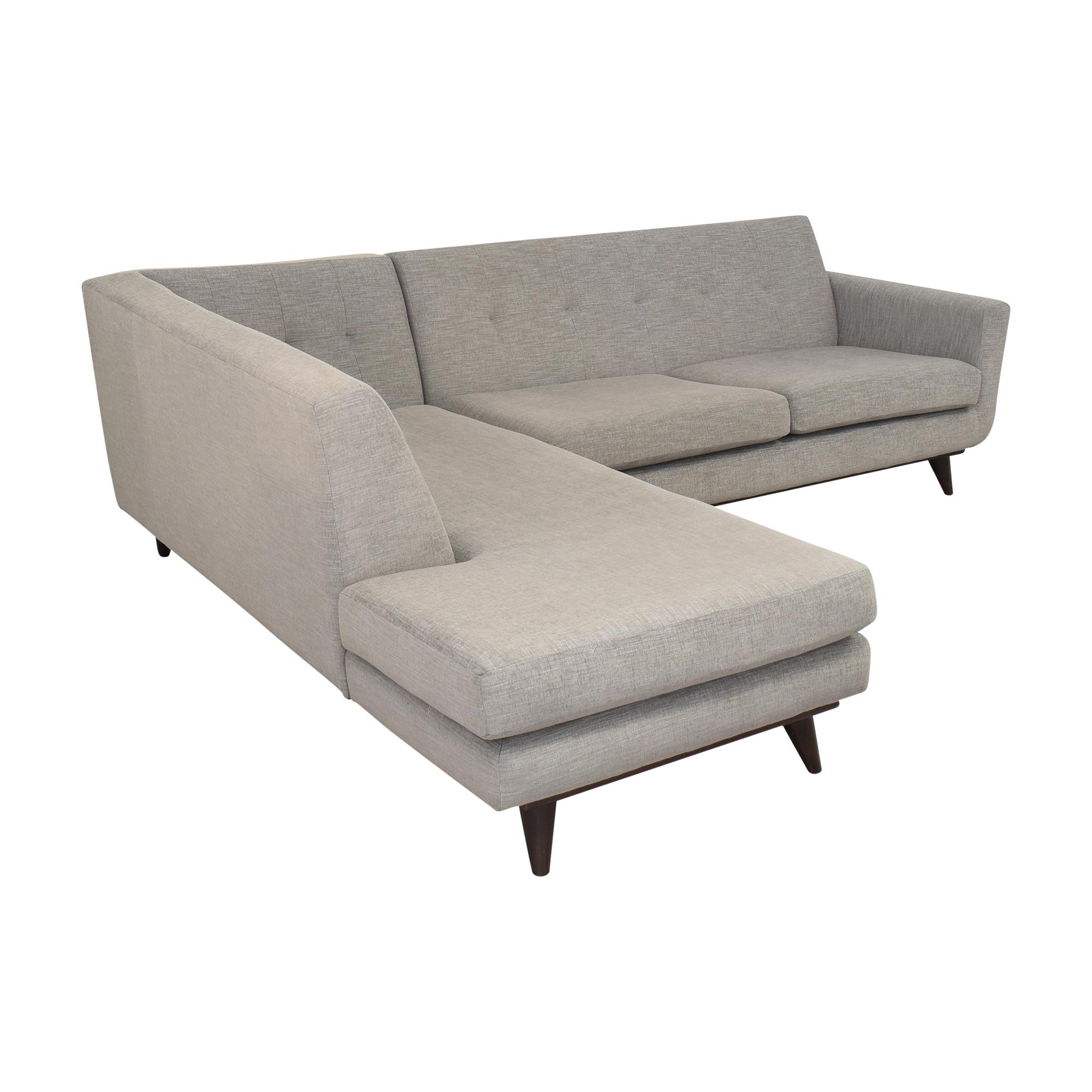 Joybird Joybird Hughes Sectional Sofa with Bumper Sectionals