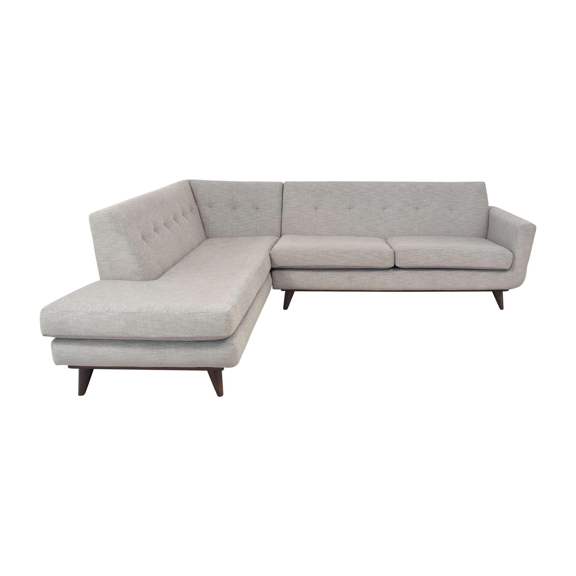 Joybird Joybird Hughes Sectional Sofa with Bumper for sale