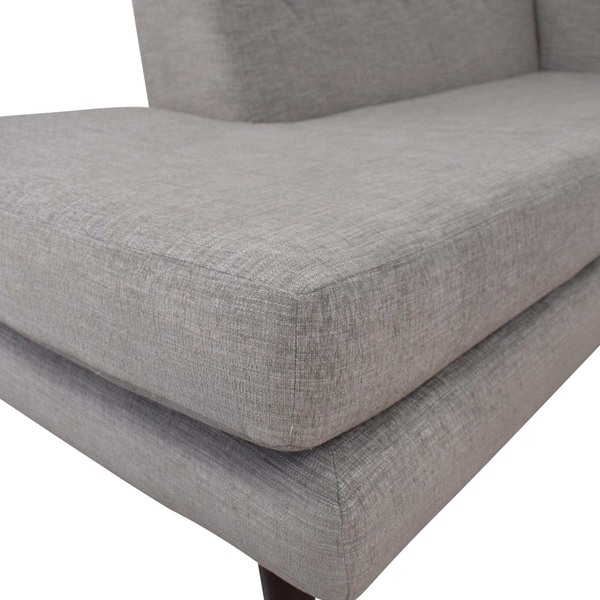 Joybird Joybird Hughes Sectional Sofa with Bumper for sale