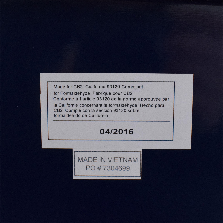 CB2 CB2 Fuel Navy Credenza Storage