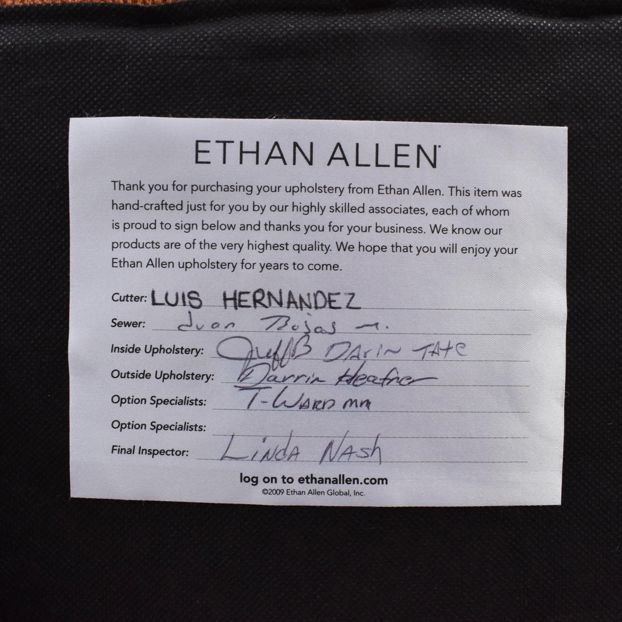 Ethan Allen Conor Recliner sale