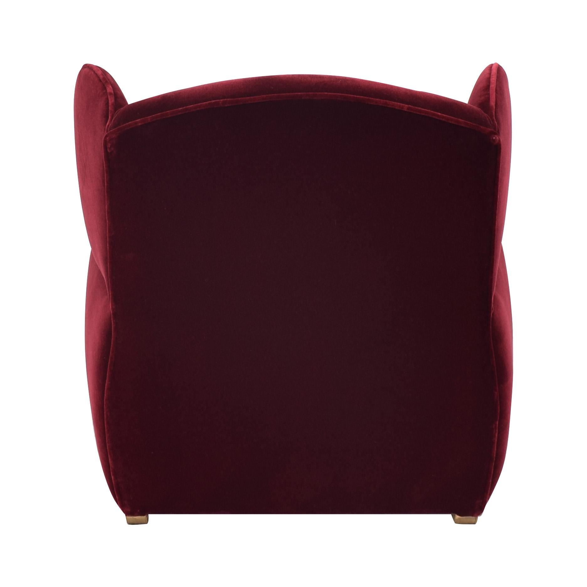 Custom Wingback Chair and Ottoman / Chairs
