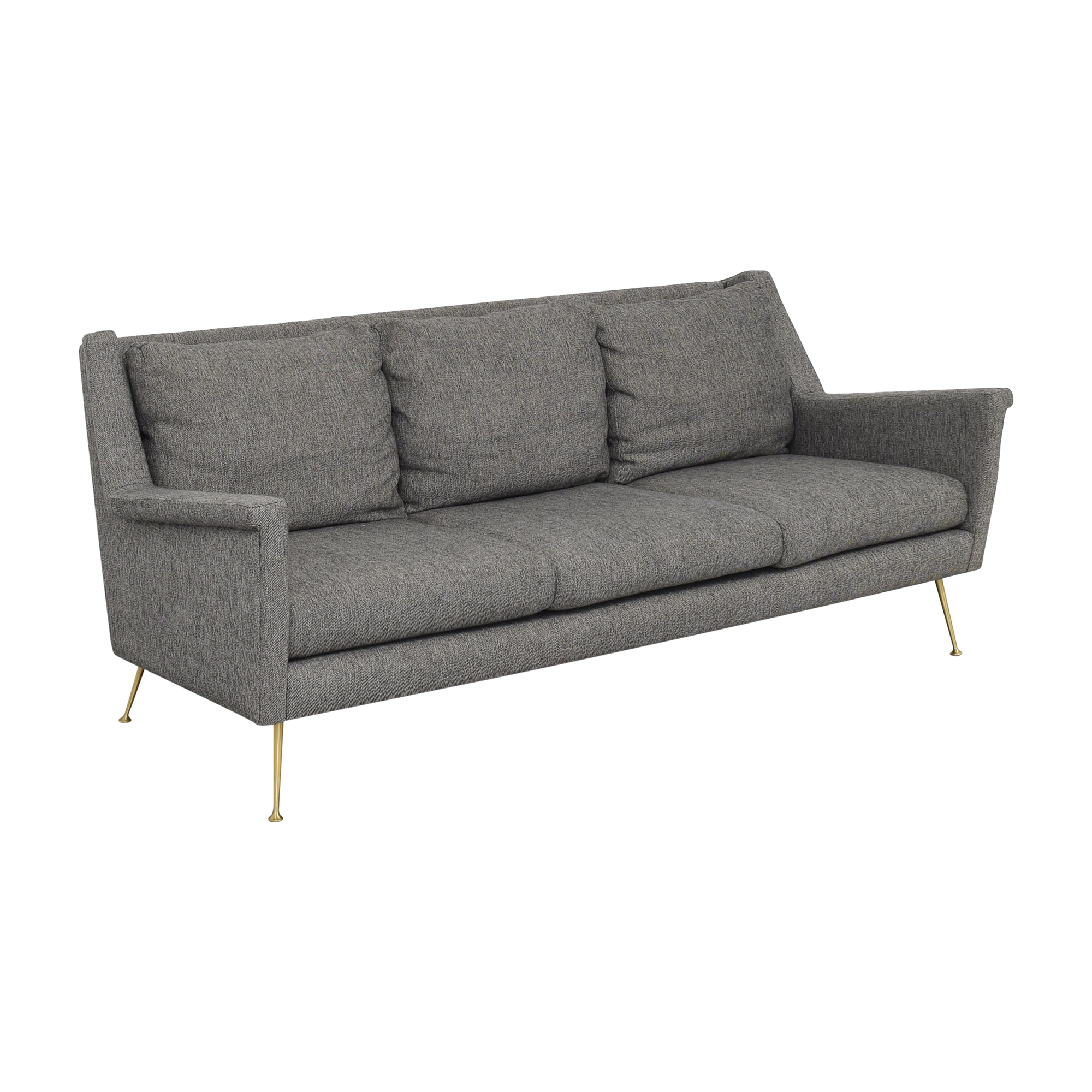shop West Elm Carlo Mid-Century Sofa West Elm Sofas