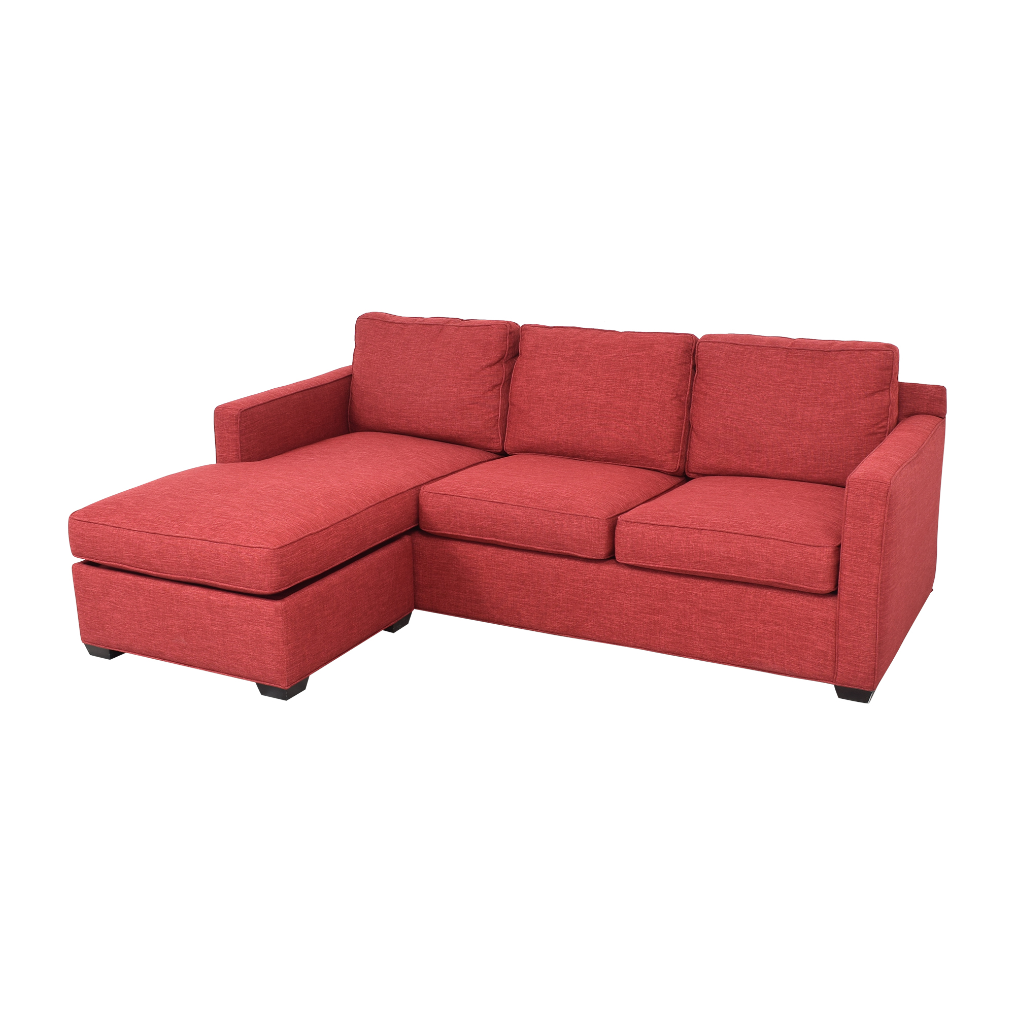 Crate & Barrel Davis 3-Seat Lounger Sofa / Sectionals