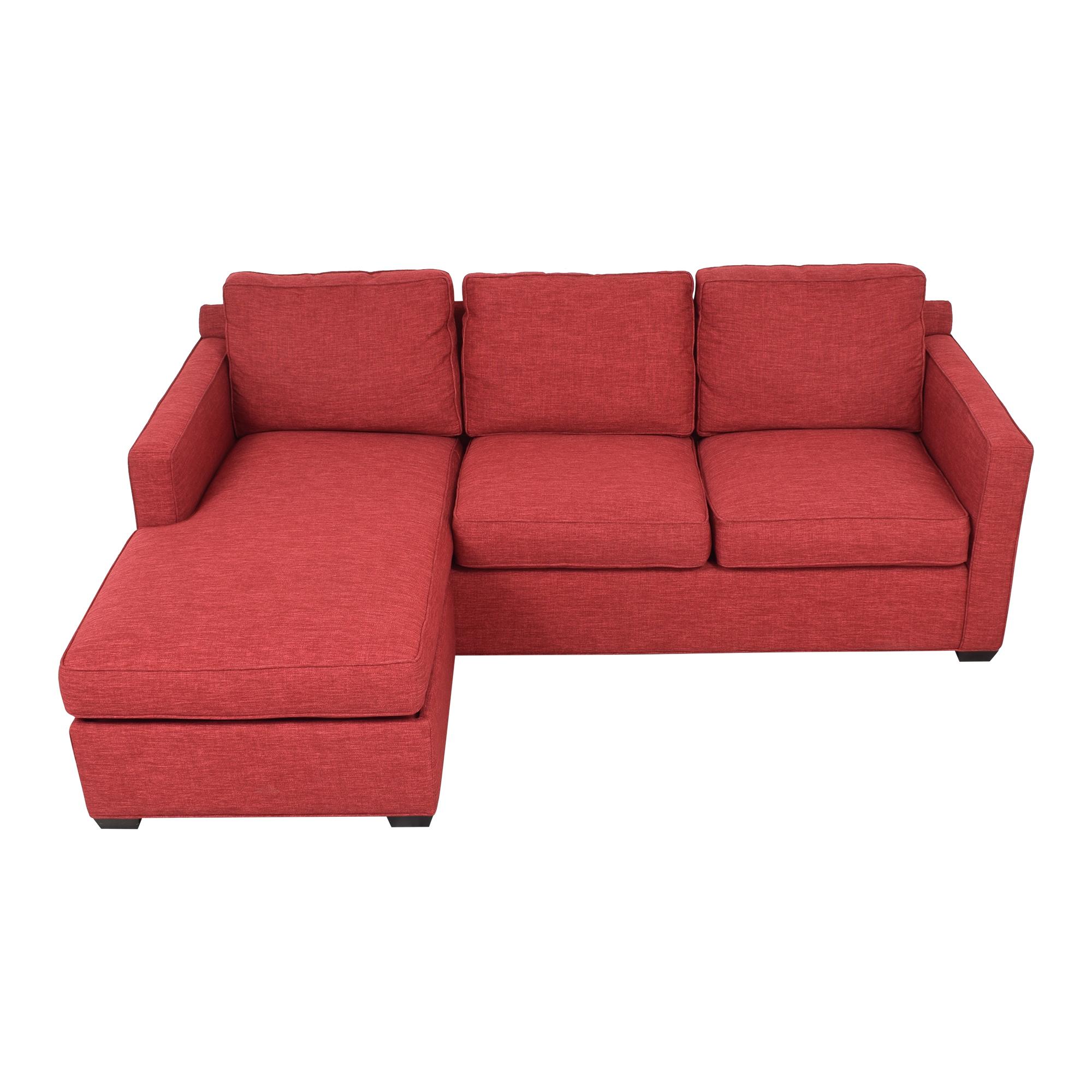 Crate & Barrel Crate & Barrel Davis 3-Seat Lounger Sofa Sectionals