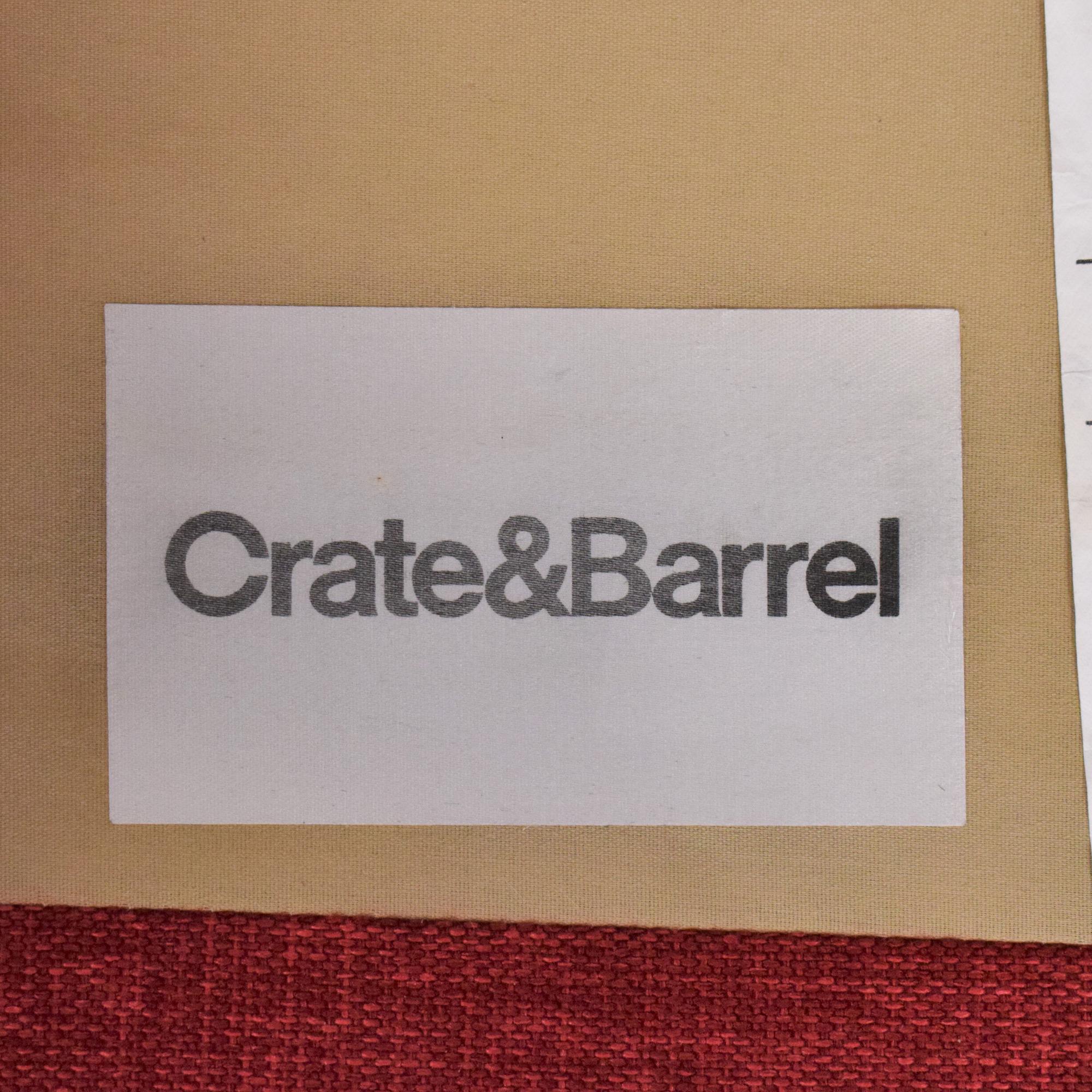 Crate & Barrel Crate & Barrel Davis 3-Seat Lounger Sofa for sale