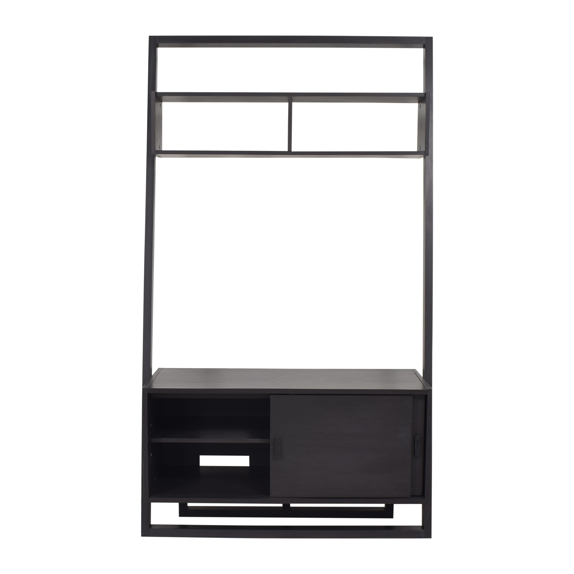 Crate & Barrel Crate & Barrel Sloane Leaning Media Stand second hand