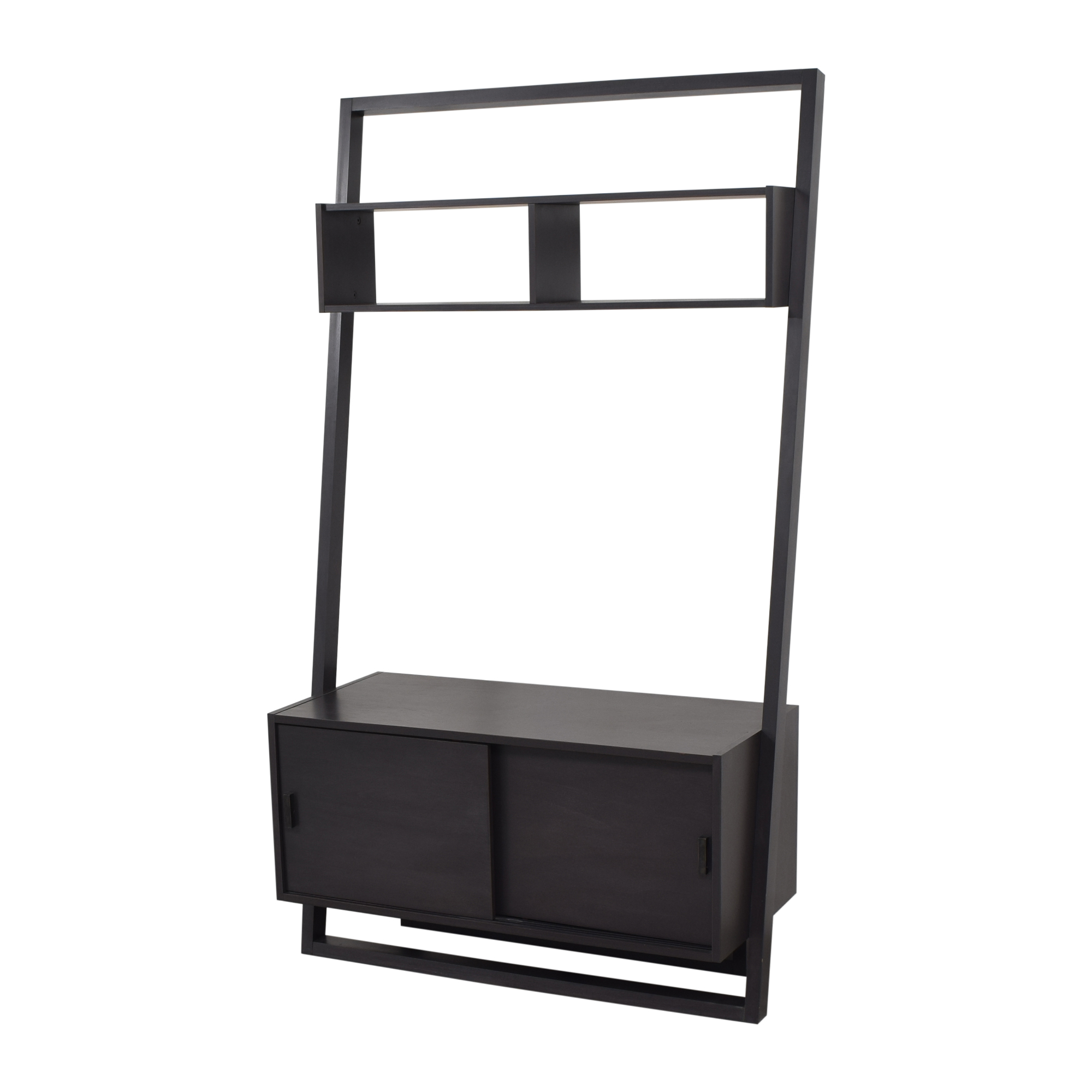 Crate & Barrel Crate & Barrel Sloane Leaning Media Stand ct