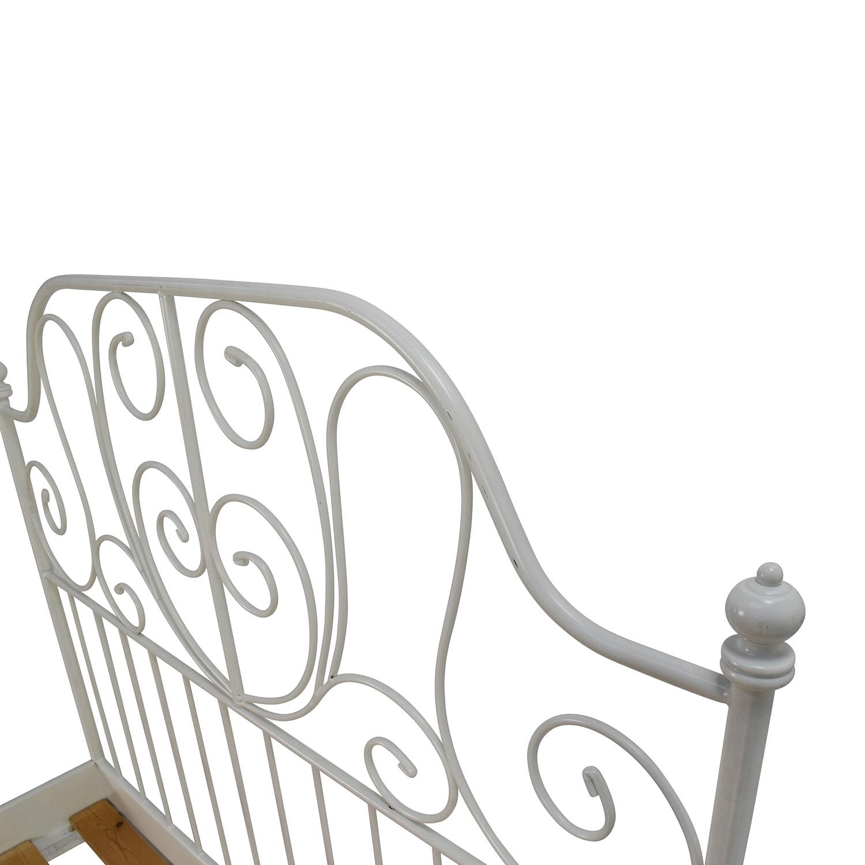 ikea ikea leirvik full size bed frame discount - Discount Bed Frames