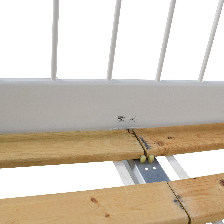 Ikea Leirvik Full Size Bed Frame / Beds
