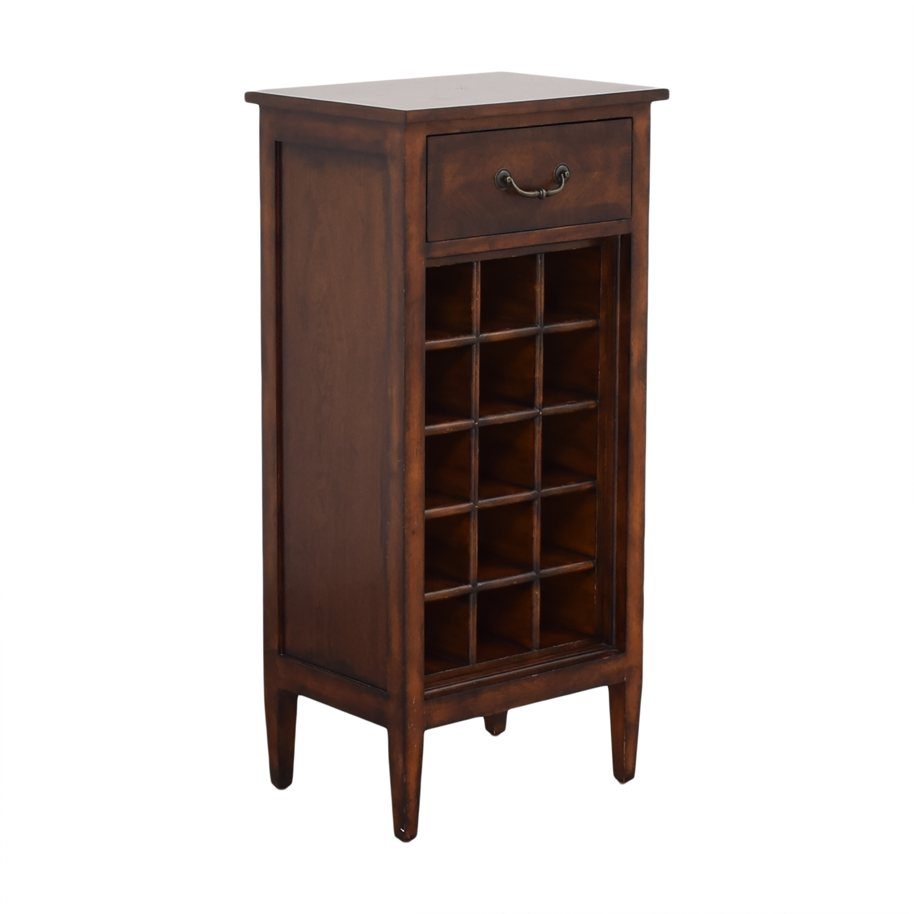 Ethan Allen Ethan Allen Wine Cabinet and Side Table for sale