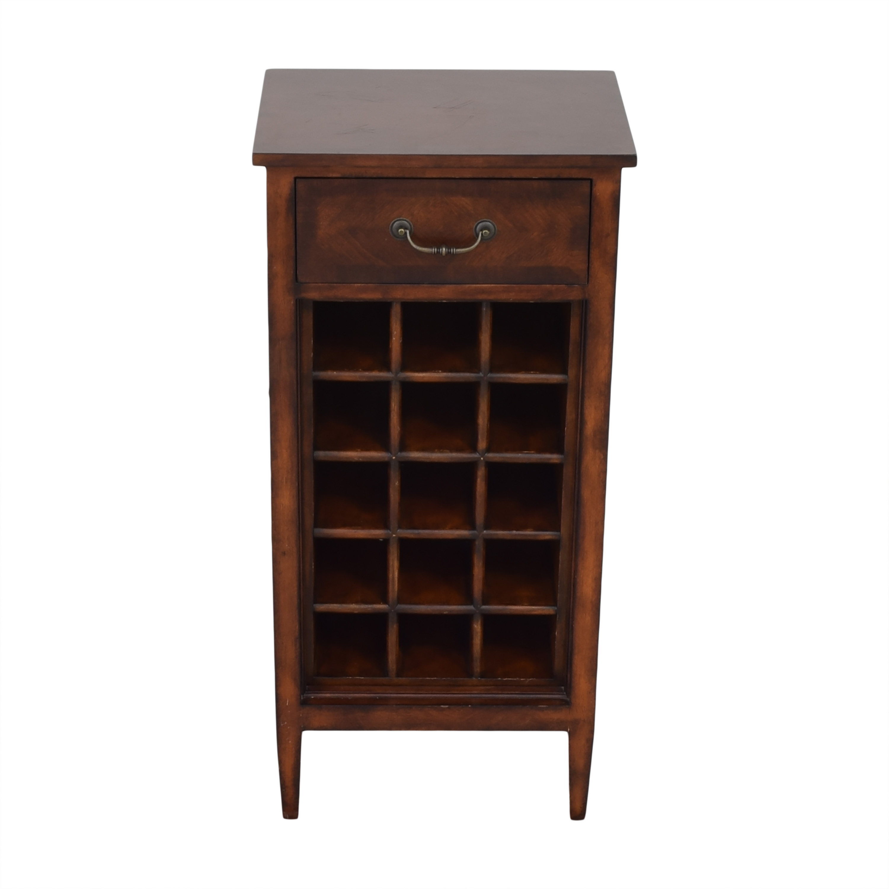 Ethan Allen Wine Cabinet and Side Table / Cabinets & Sideboards