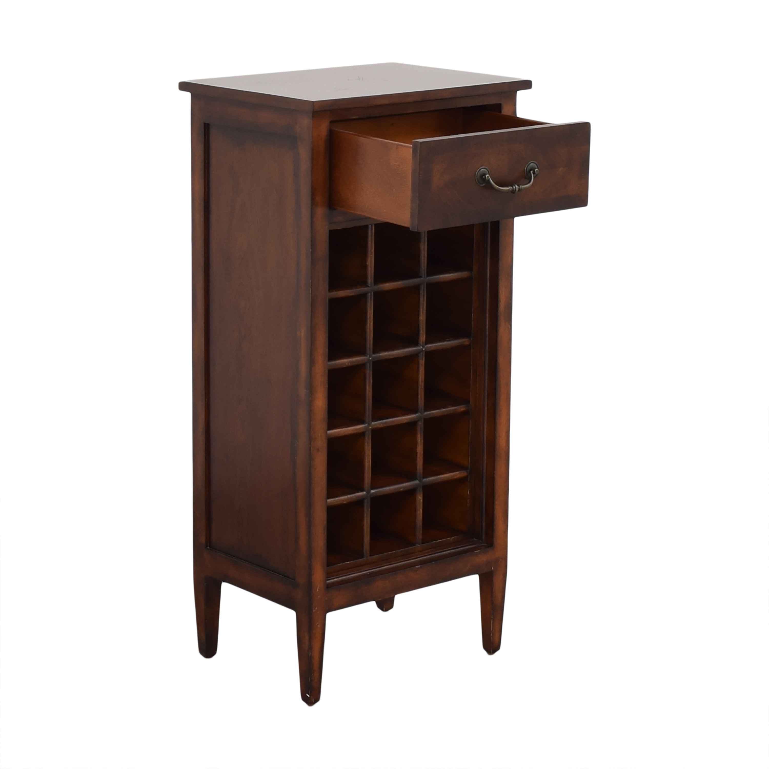 Ethan Allen Wine Cabinet and Side Table Ethan Allen