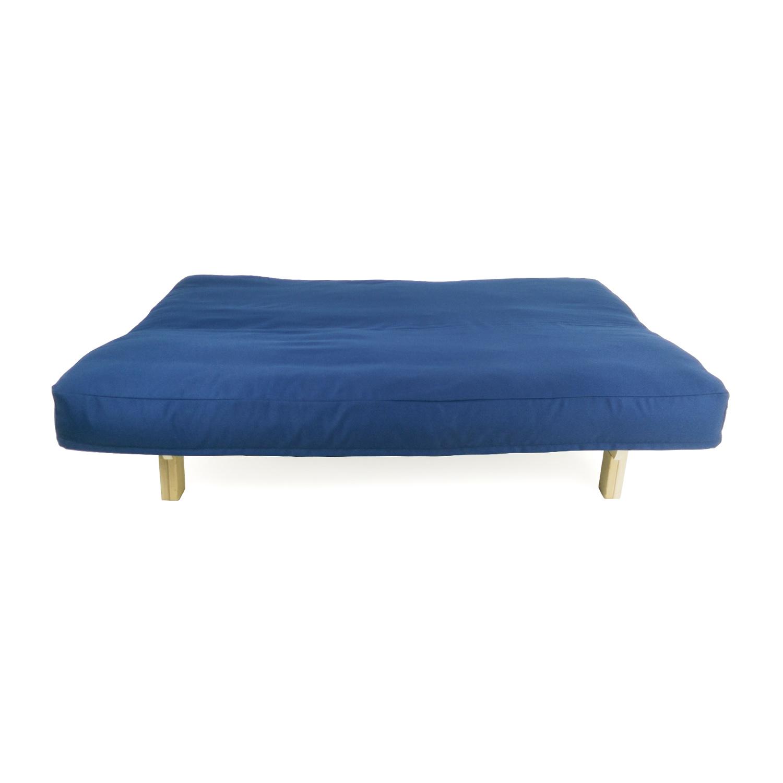 Second Hand Deep Blue Futon Couch Nj