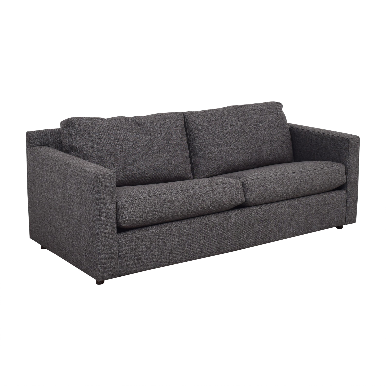 Crate & Barrel Crate & Barrel Barrett Queen Sleeper Sofa for sale