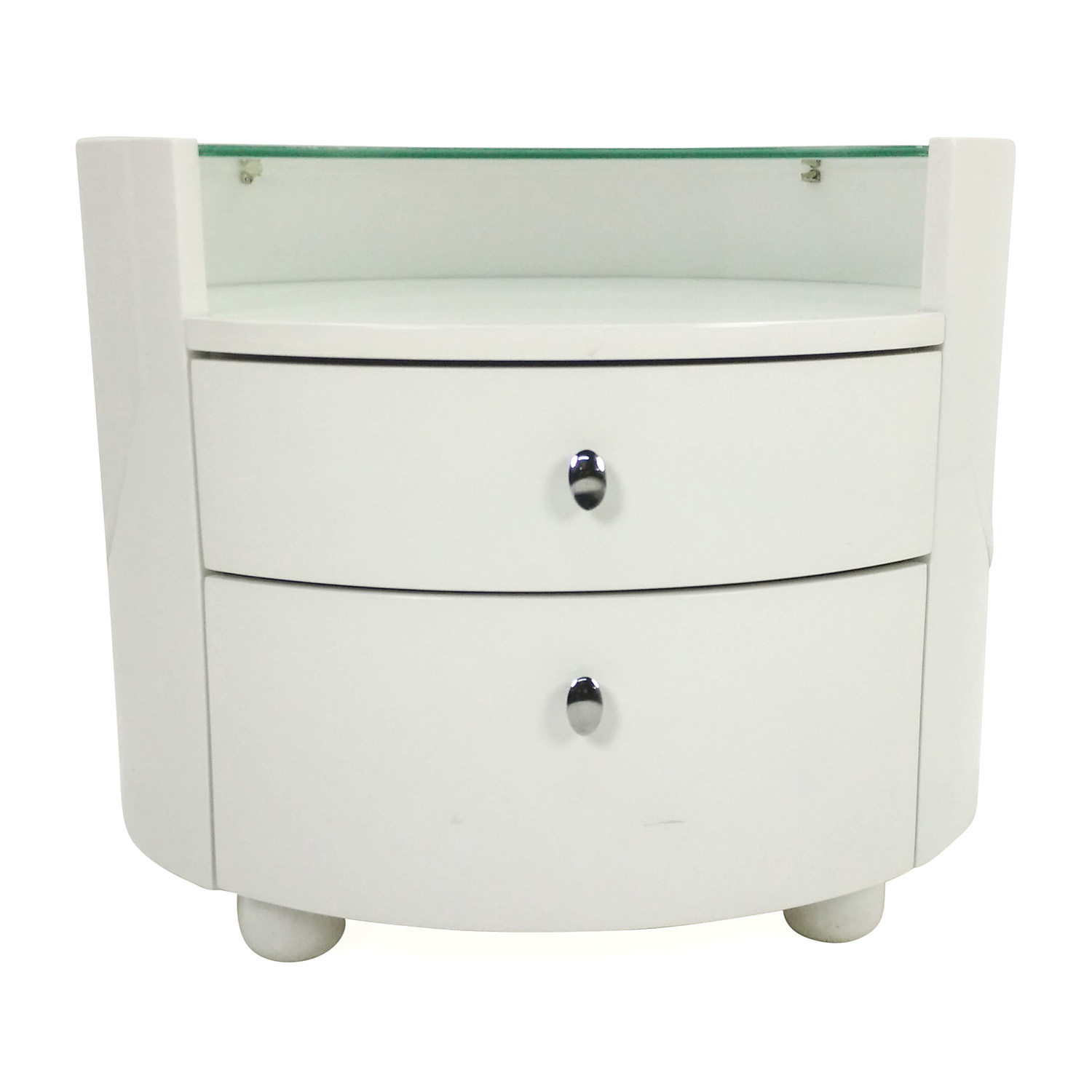 buy Moon Modern White Nightstand Moon End Tables