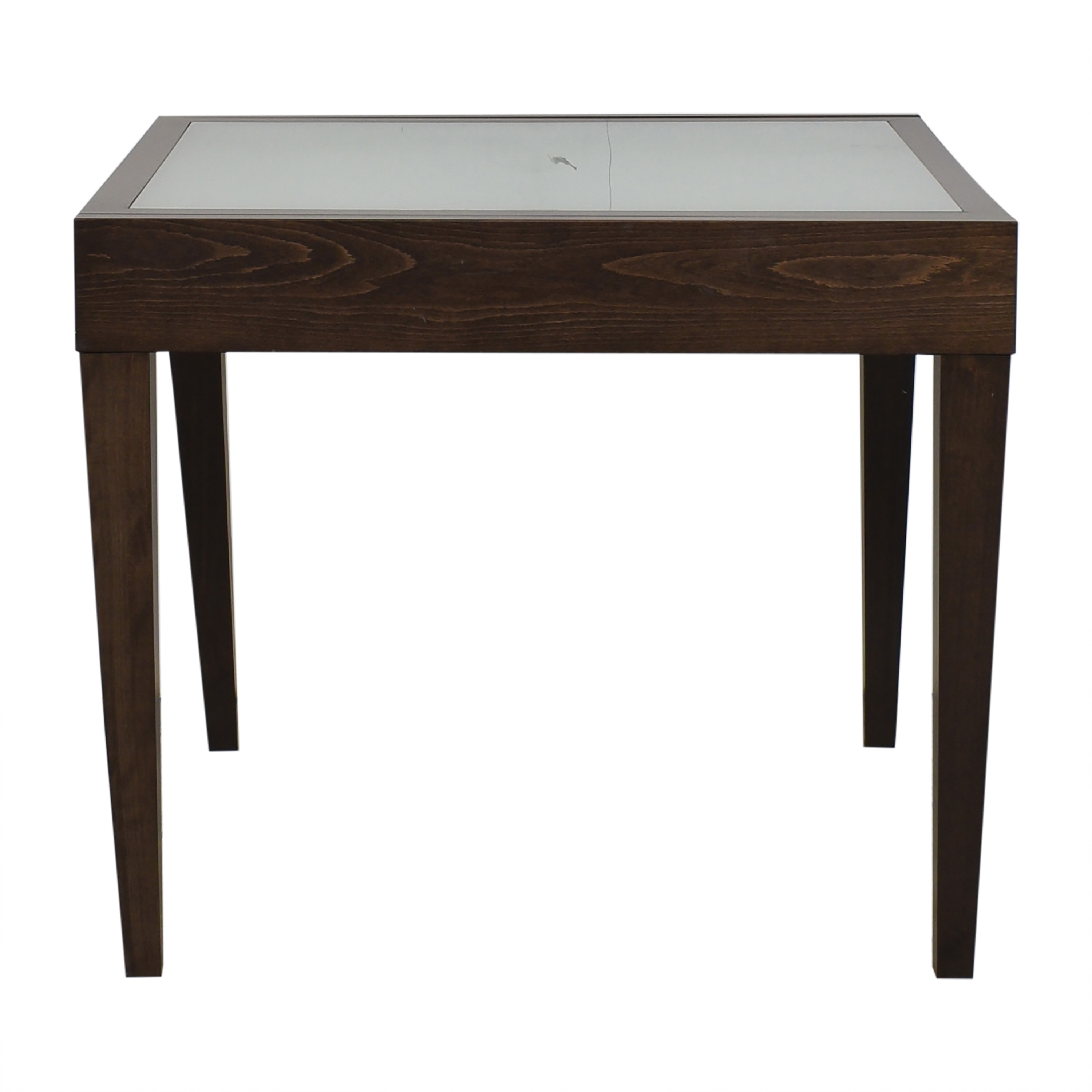 Design Within Reach Design Within Reach Spanna Extending Dining Table dark brown