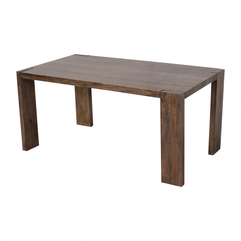 CB2 CB2 Blox Dining Table dimensions