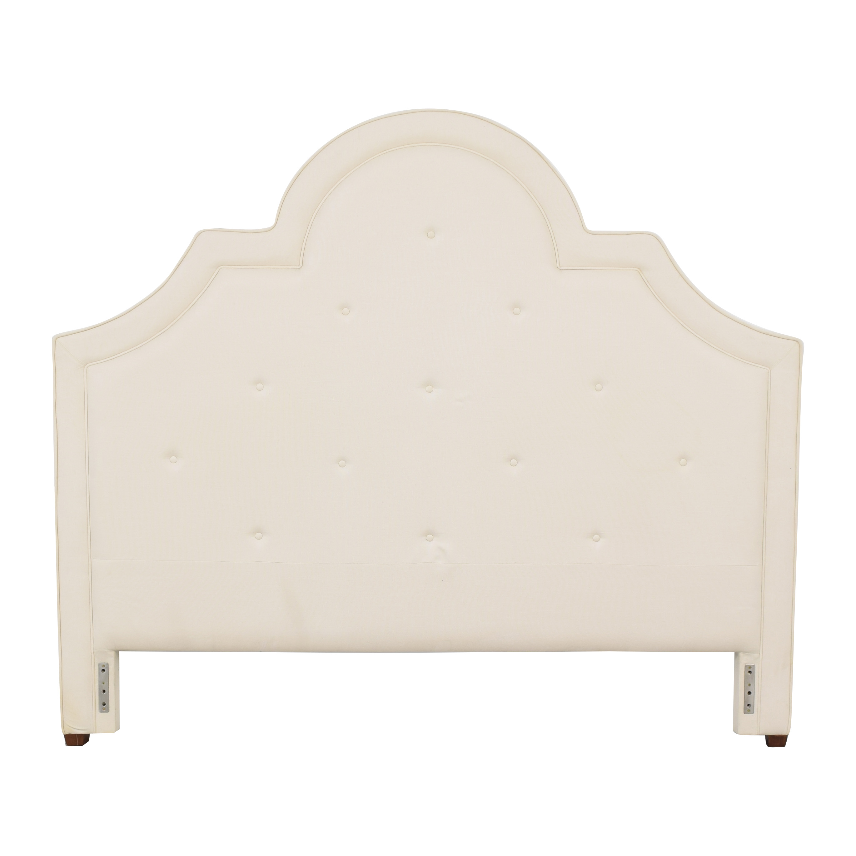 buy Pottery Barn York Tufted King Headboard Pottery Barn Beds