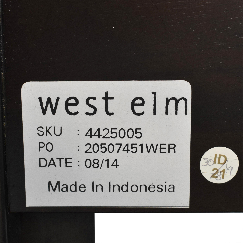 West Elm Queen Simple Platform Bed with Low Cutout Headboard West Elm