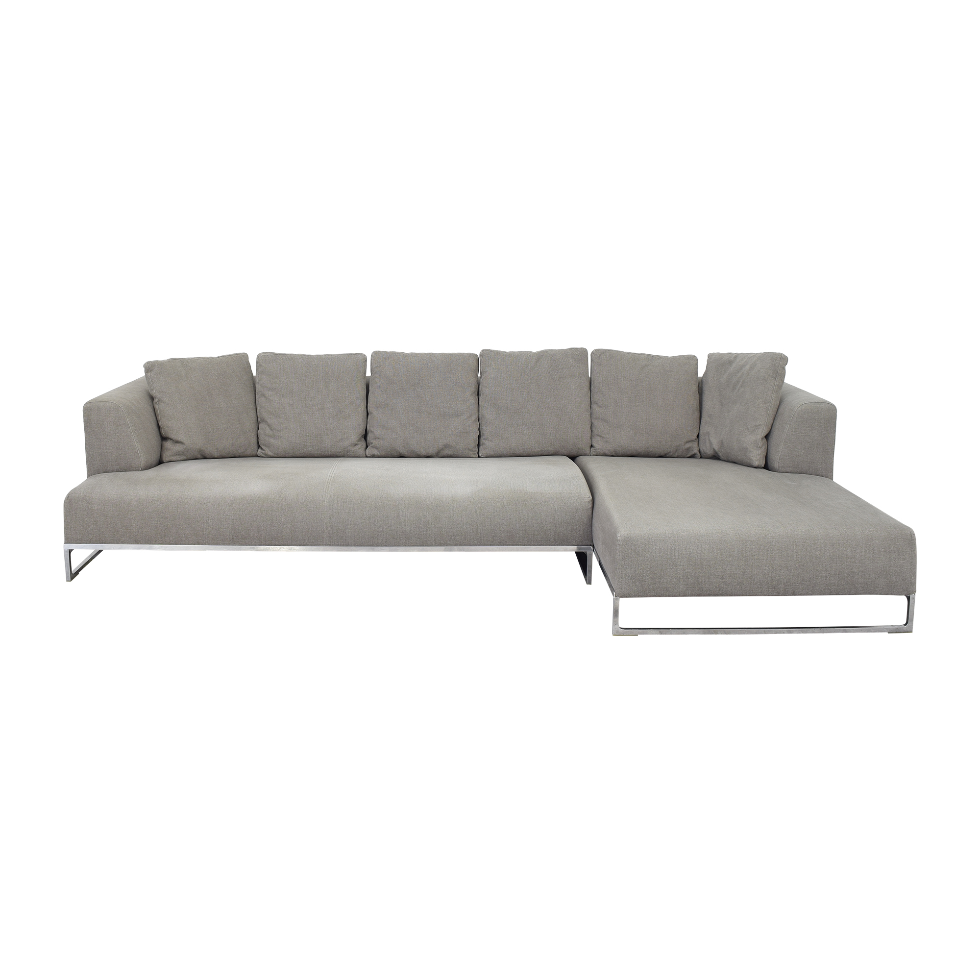 shop B&B Italia Solo Sectional Sofa B&B Italia Sectionals