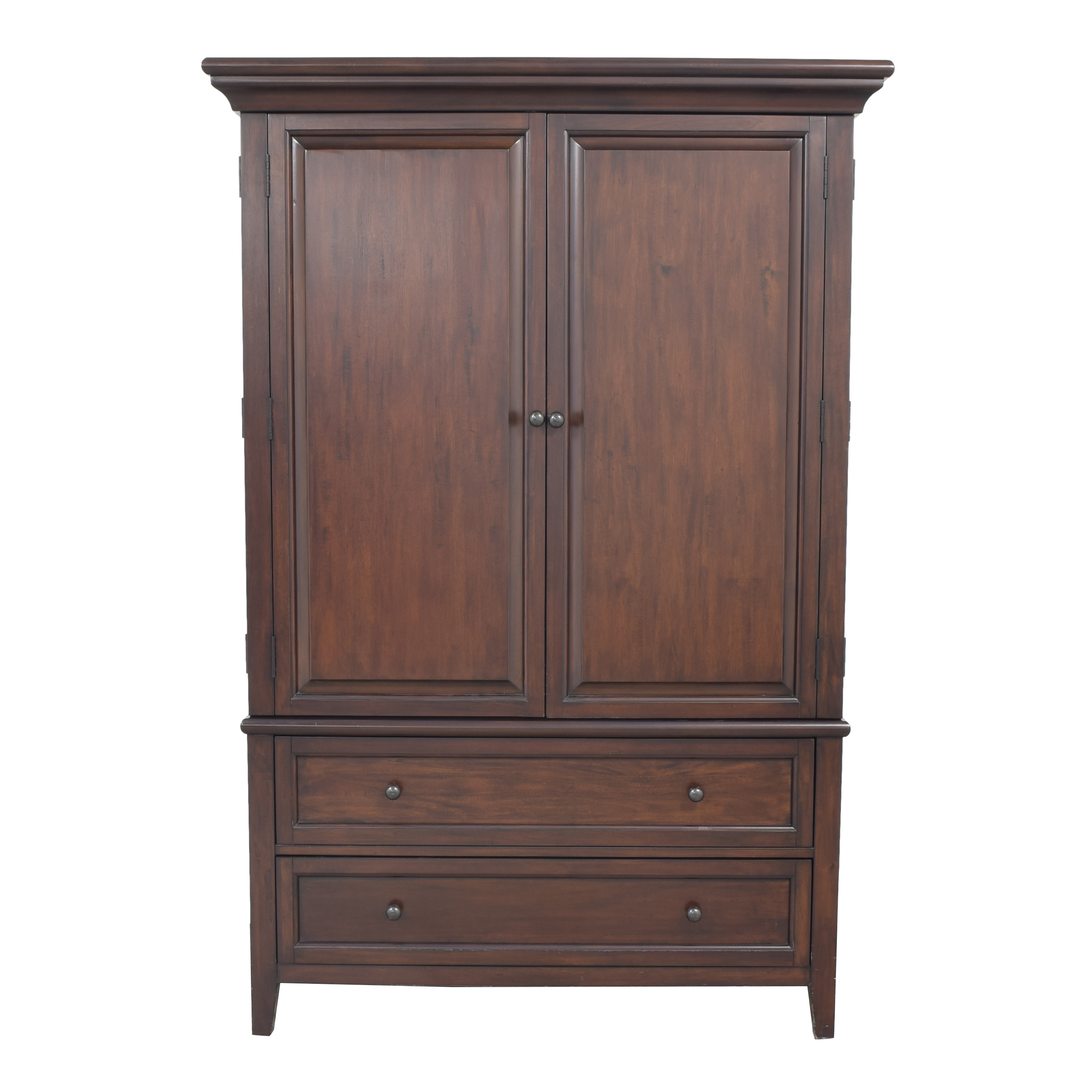 shop Pottery Barn Hudson Armoire Pottery Barn