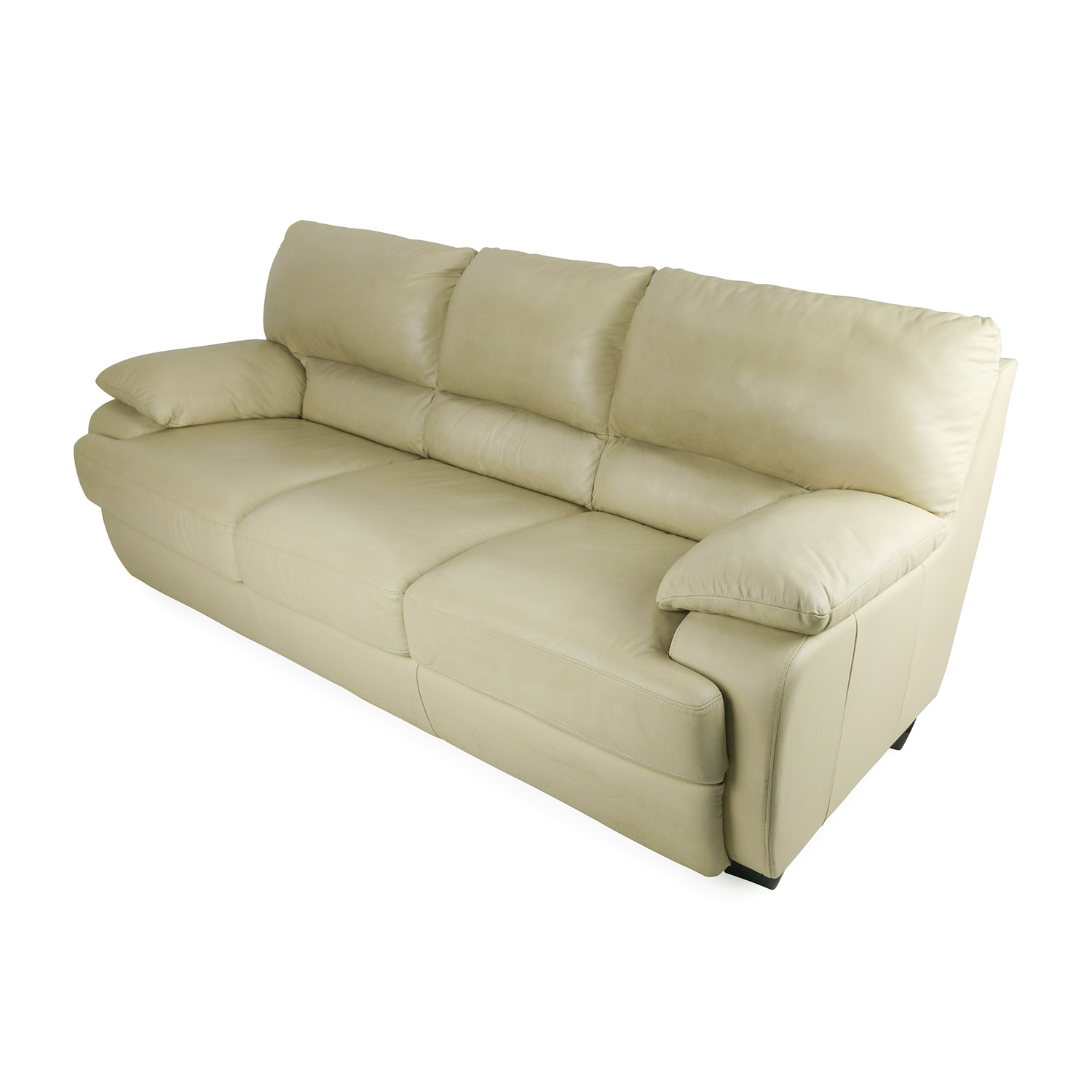 75 off tan leather couch sofas