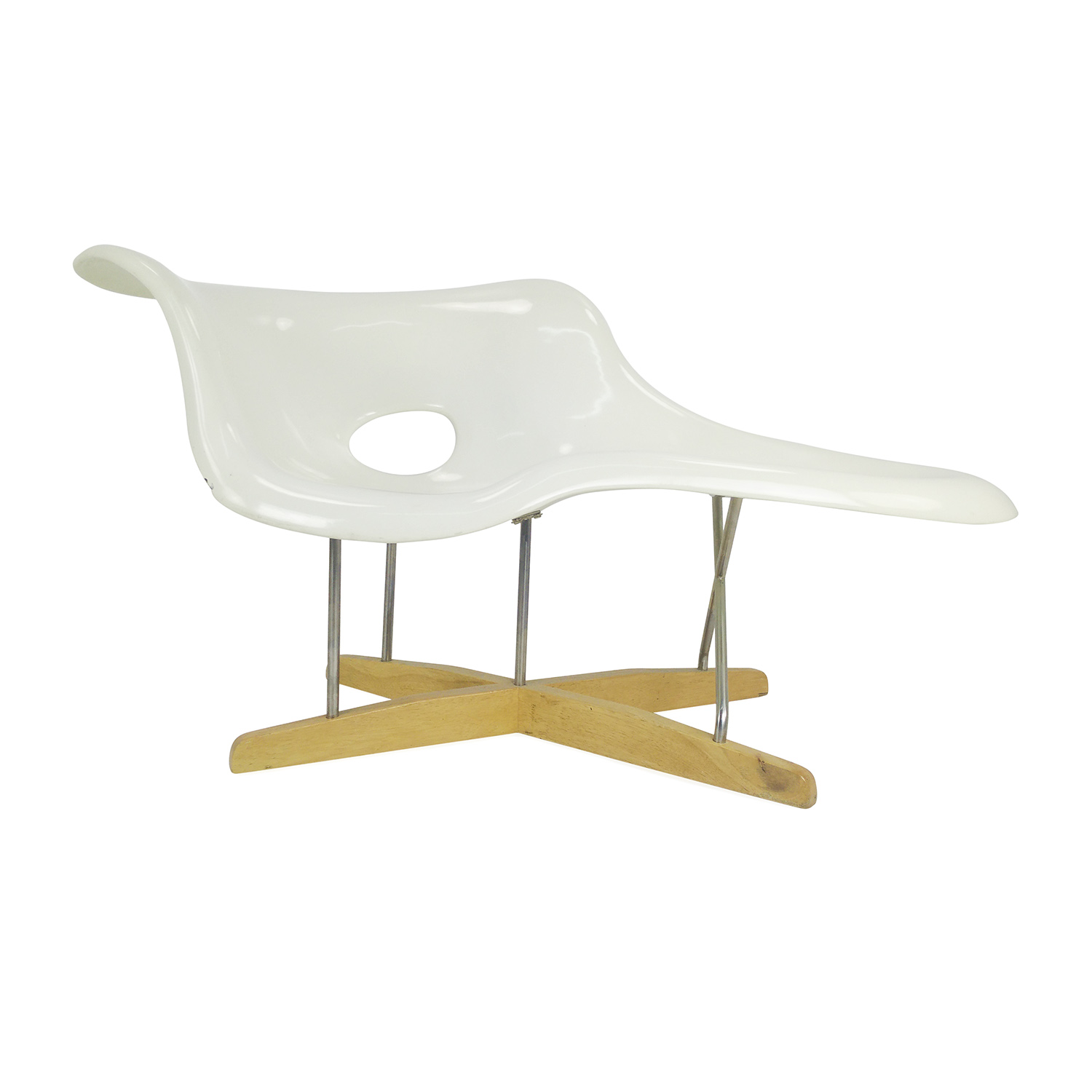 Bo concept chaise second hand for Reproduction chaise eames