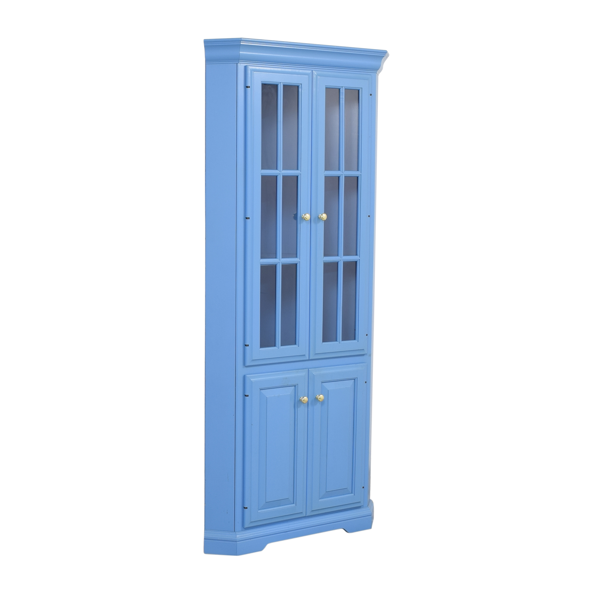 Woodcraft Woodcraft Corner China Cabinet Cabinets & Sideboards