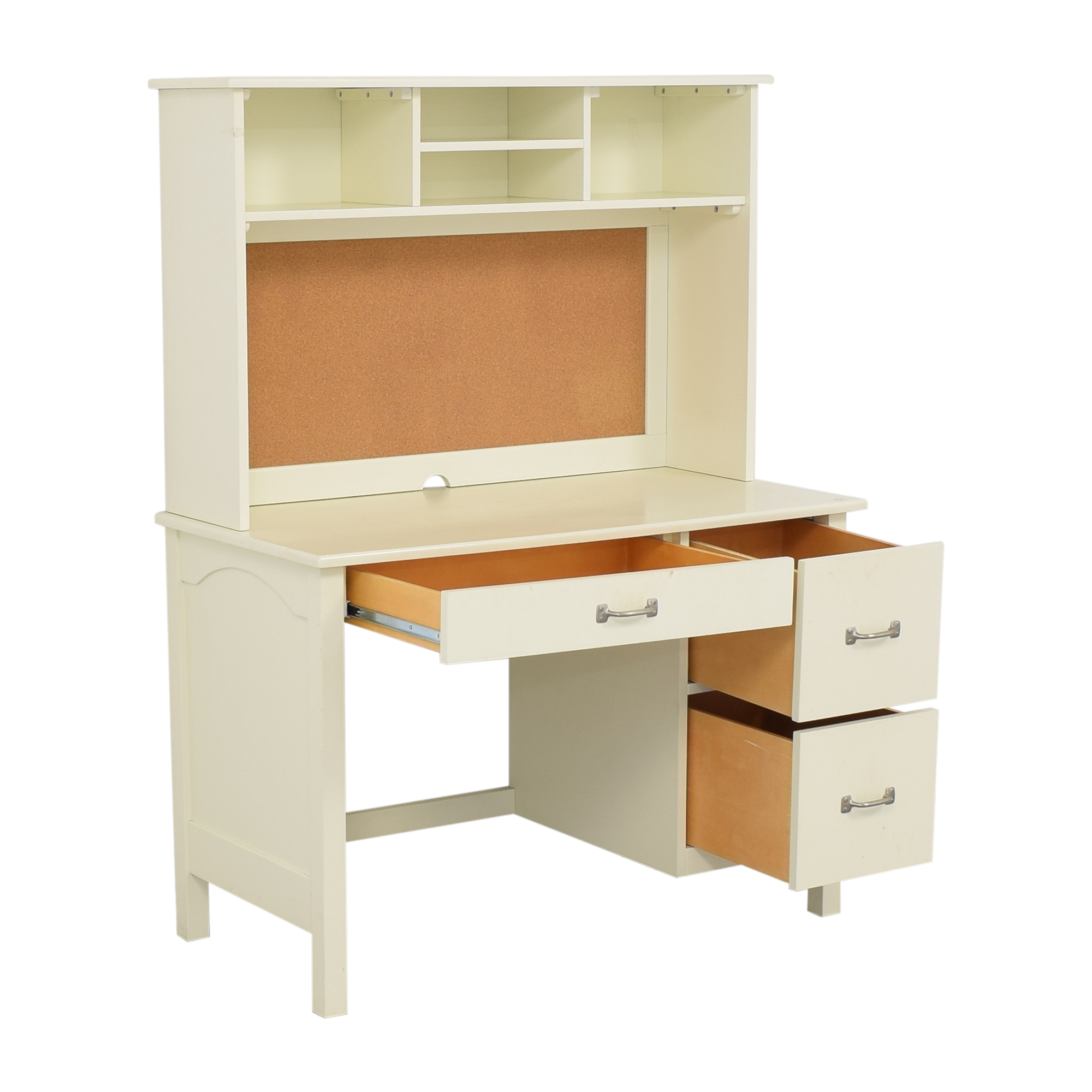 Pottery Barn Kids Kendall Desk with Hutch / Tables