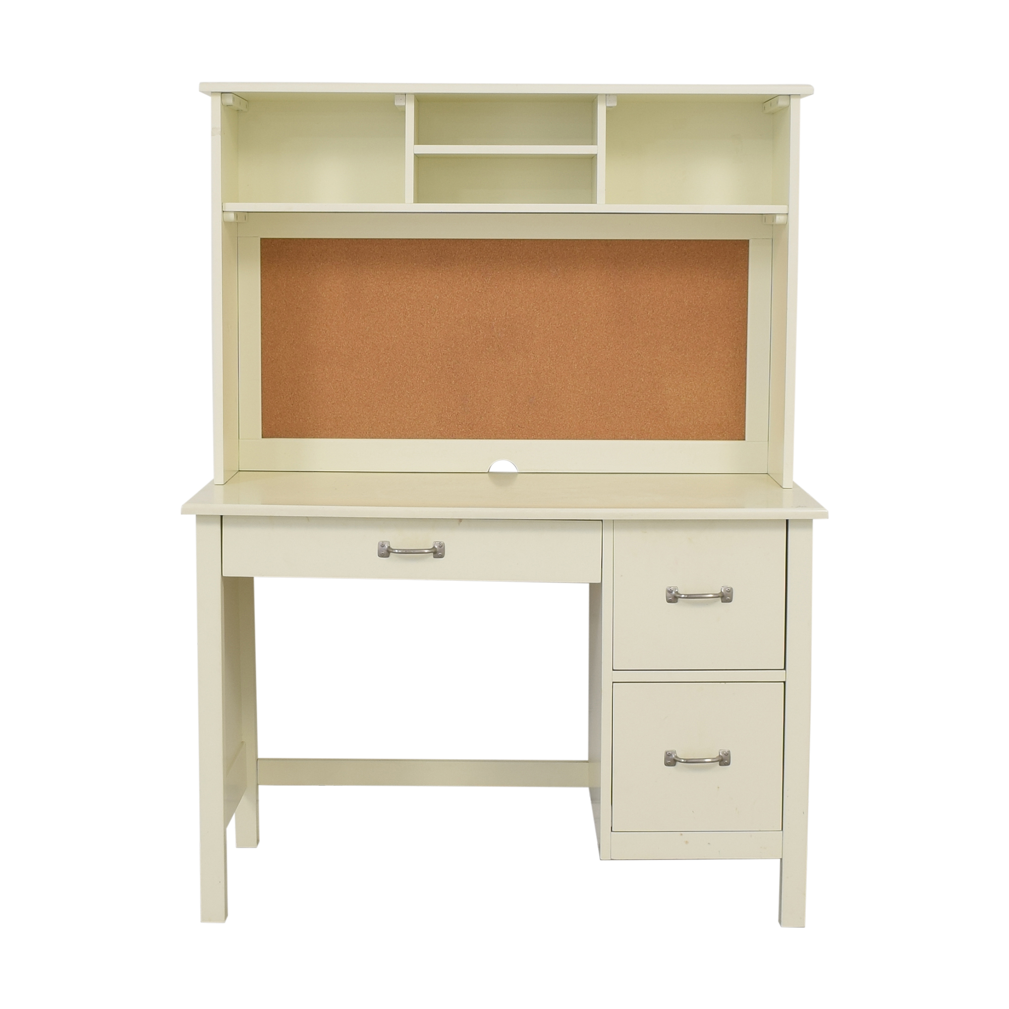 Pottery Barn Kids Pottery Barn Kids Kendall Desk with Hutch Home Office Desks