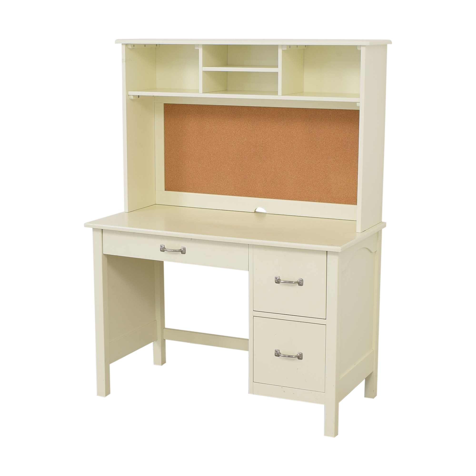 Pottery Barn Kids Pottery Barn Kids Kendall Desk with Hutch pa