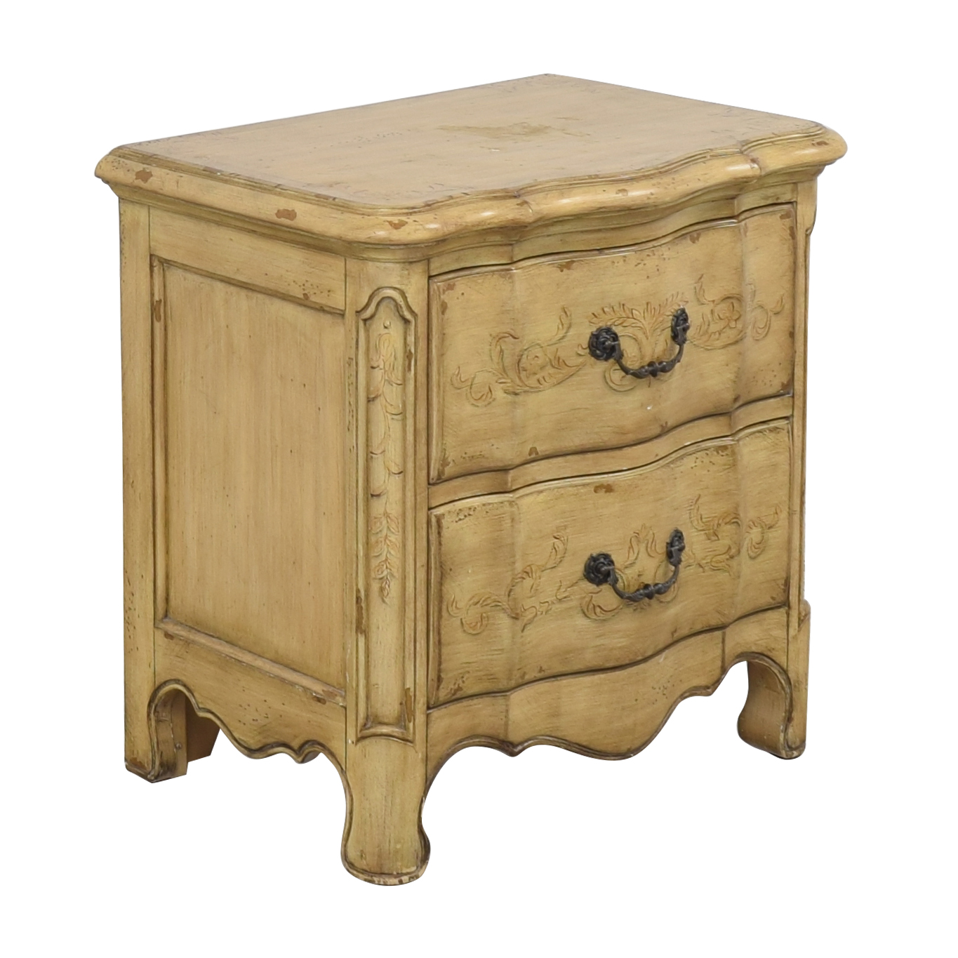 buy Artistica Two Drawer Nightstand Artistica