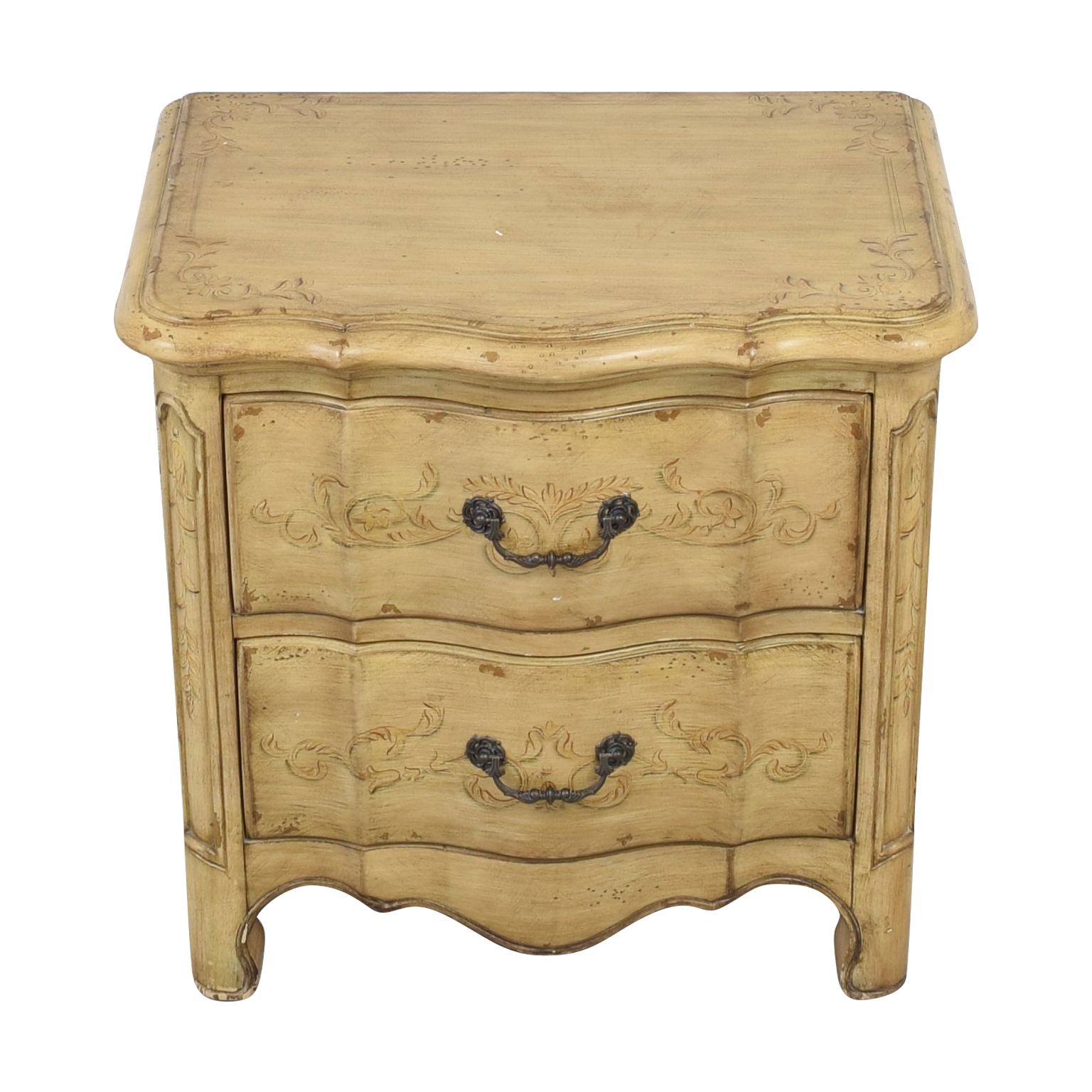 shop Artistica Two Drawer Nightstand Artistica End Tables