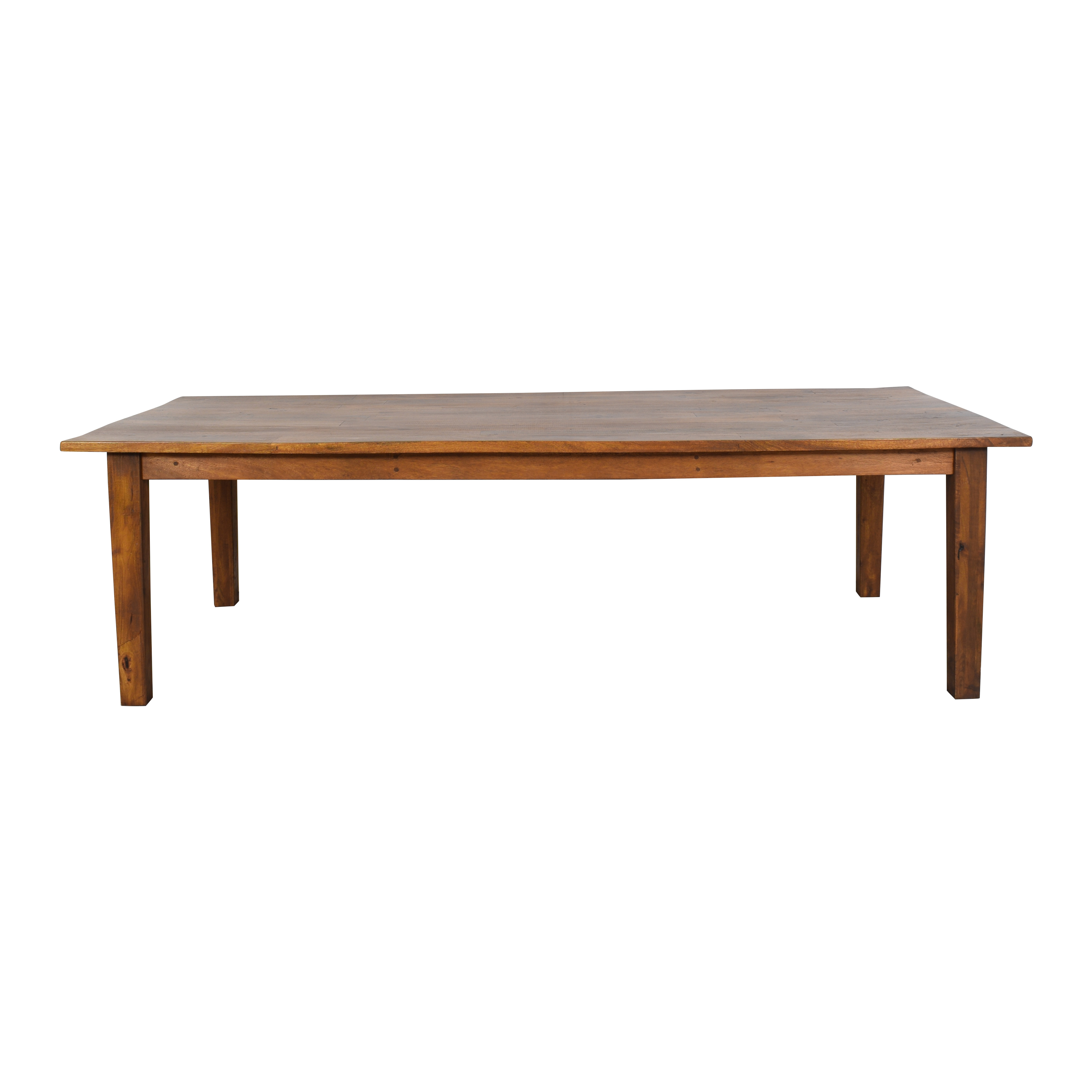 buy Pottery Barn Rustic Style Dining Table Pottery Barn