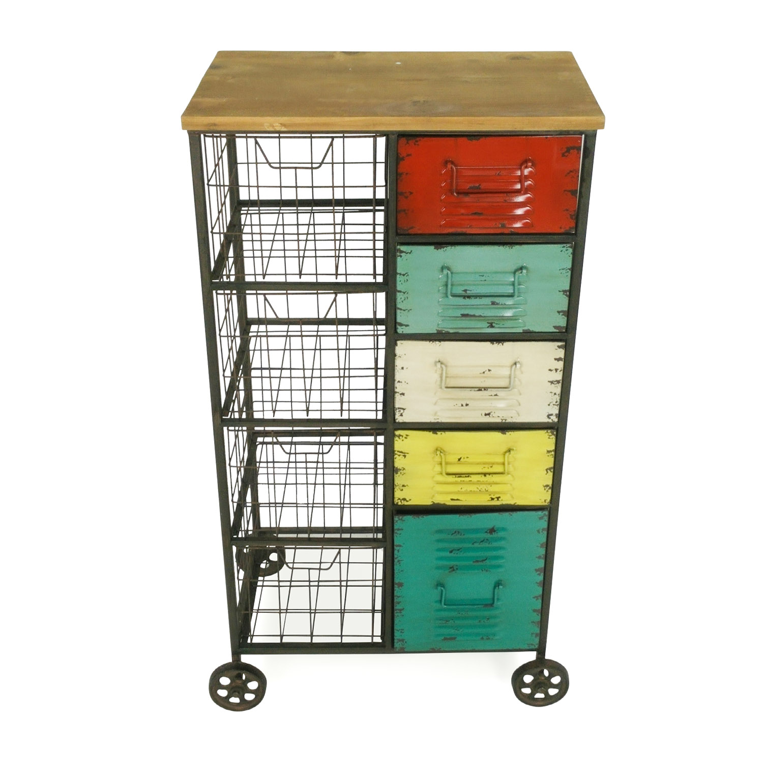 buy Vintage Storage Unit Vintage Filing & Bins
