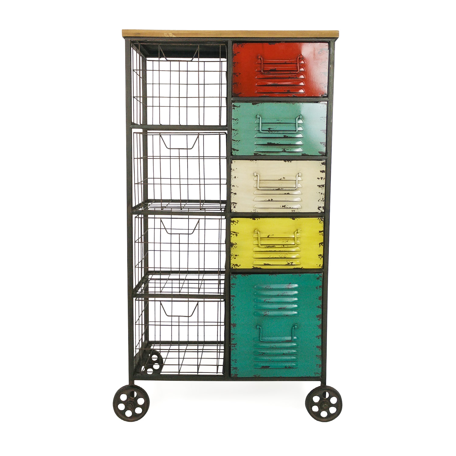 Vintage Vintage Storage Unit dimensions