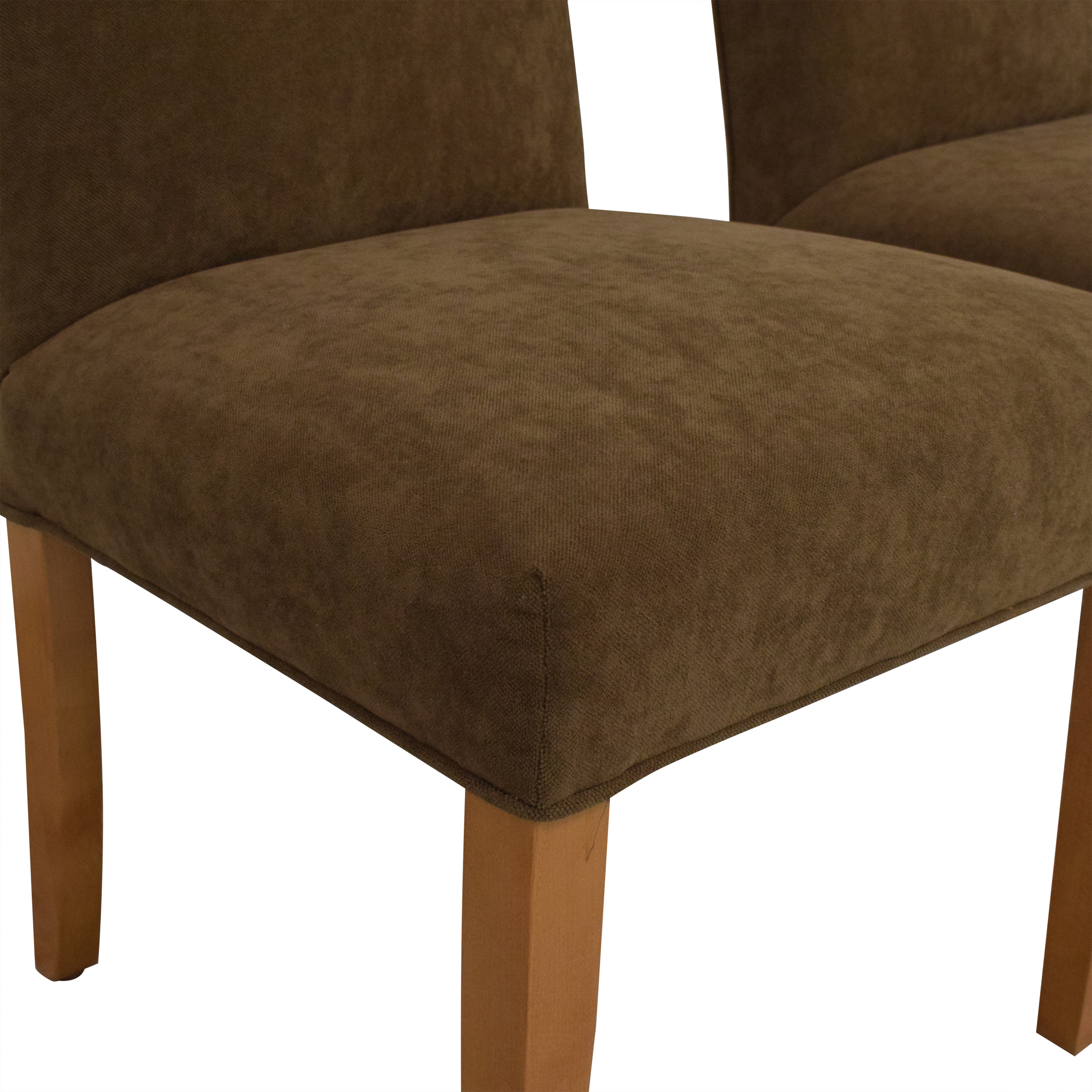 Crate & Barrel Crate & Barrel Miles Dining Chairs dimensions