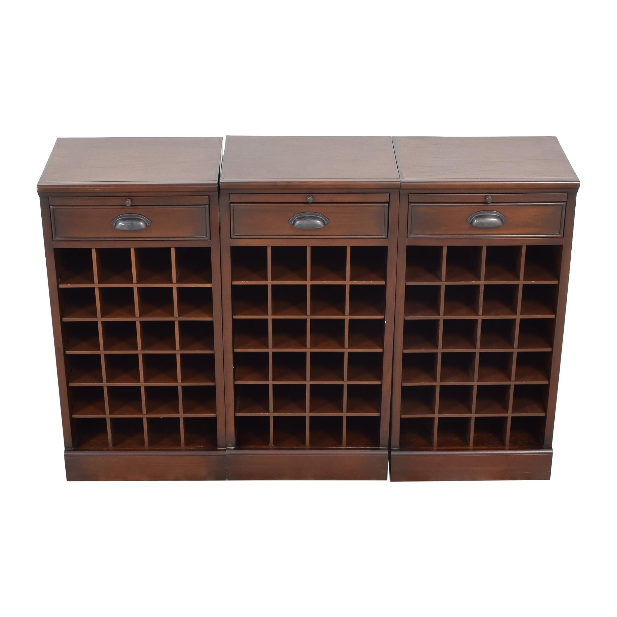 Pottery Barn Pottery Barn Modular Bar Wine Cabinet discount