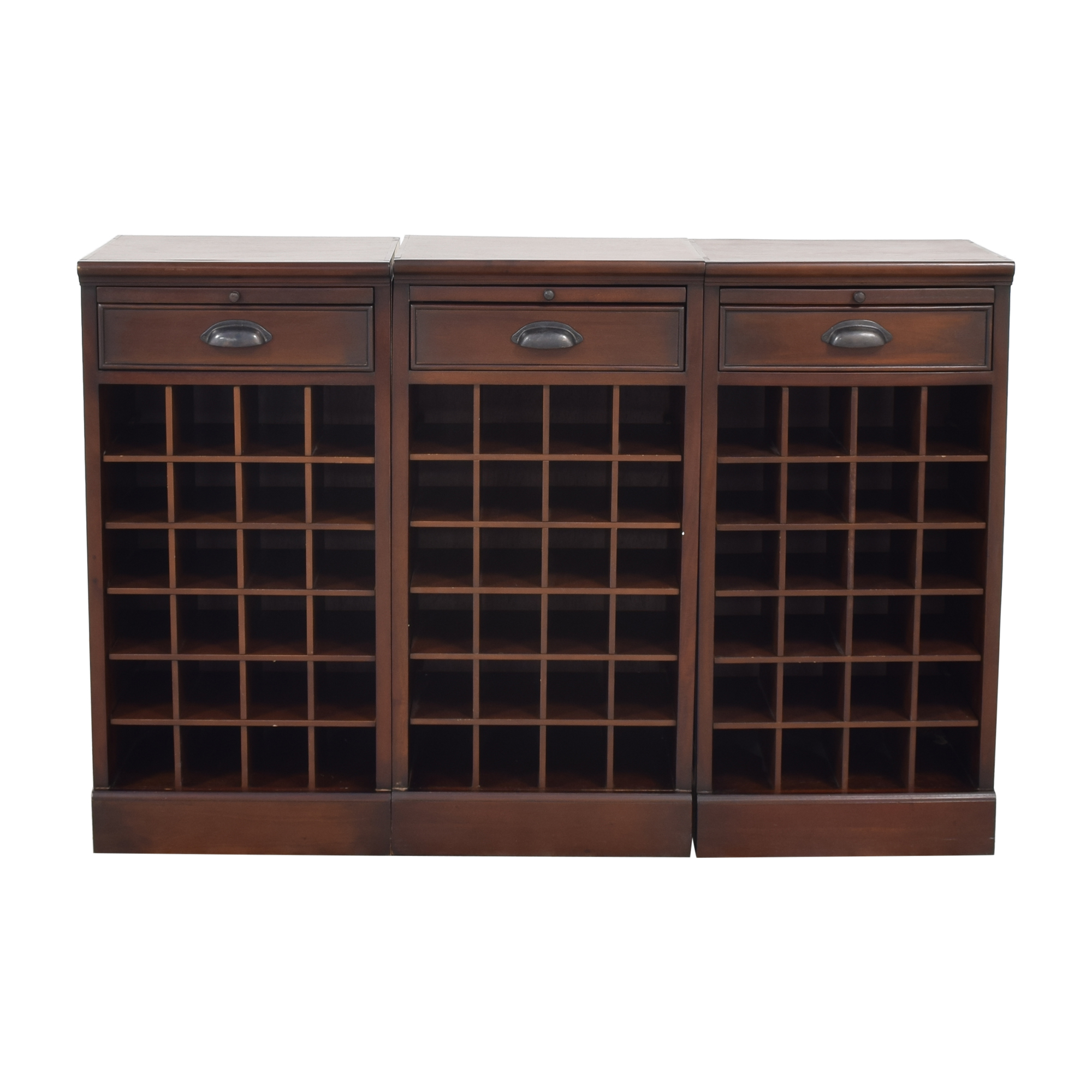 Pottery Barn Pottery Barn Modular Bar Wine Cabinet second hand