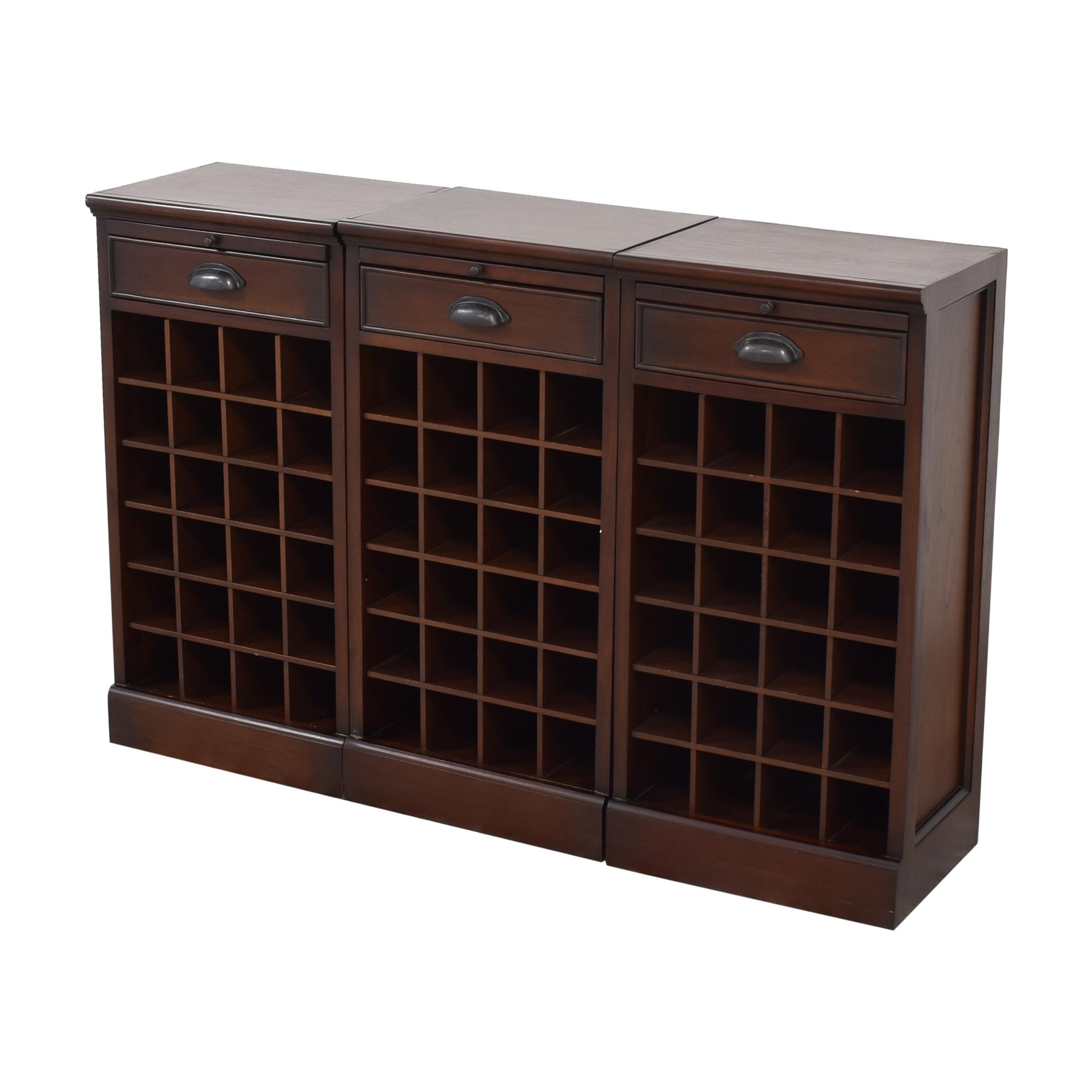 Pottery Barn Pottery Barn Modular Bar Wine Cabinet dimensions