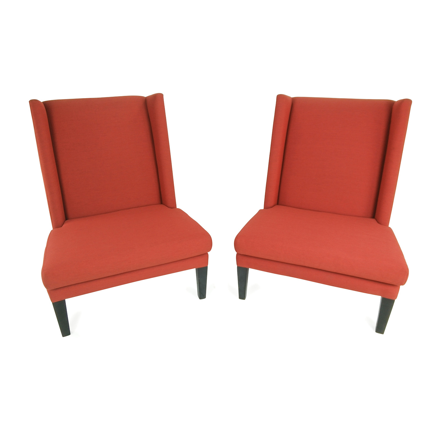 CB2 CB2 Red Chairs used