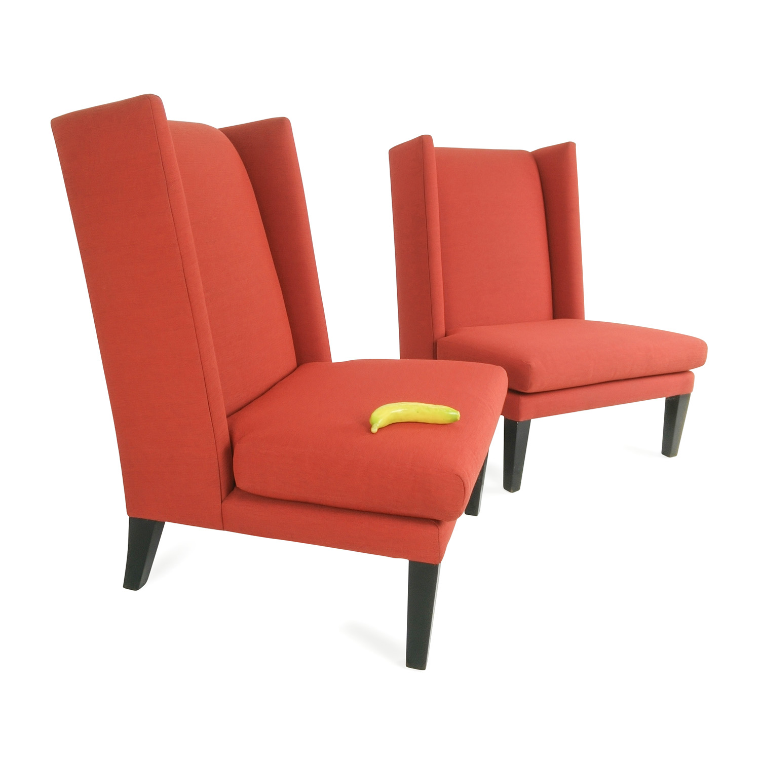 78% OFF CB2 CB2 Red Chairs Chairs
