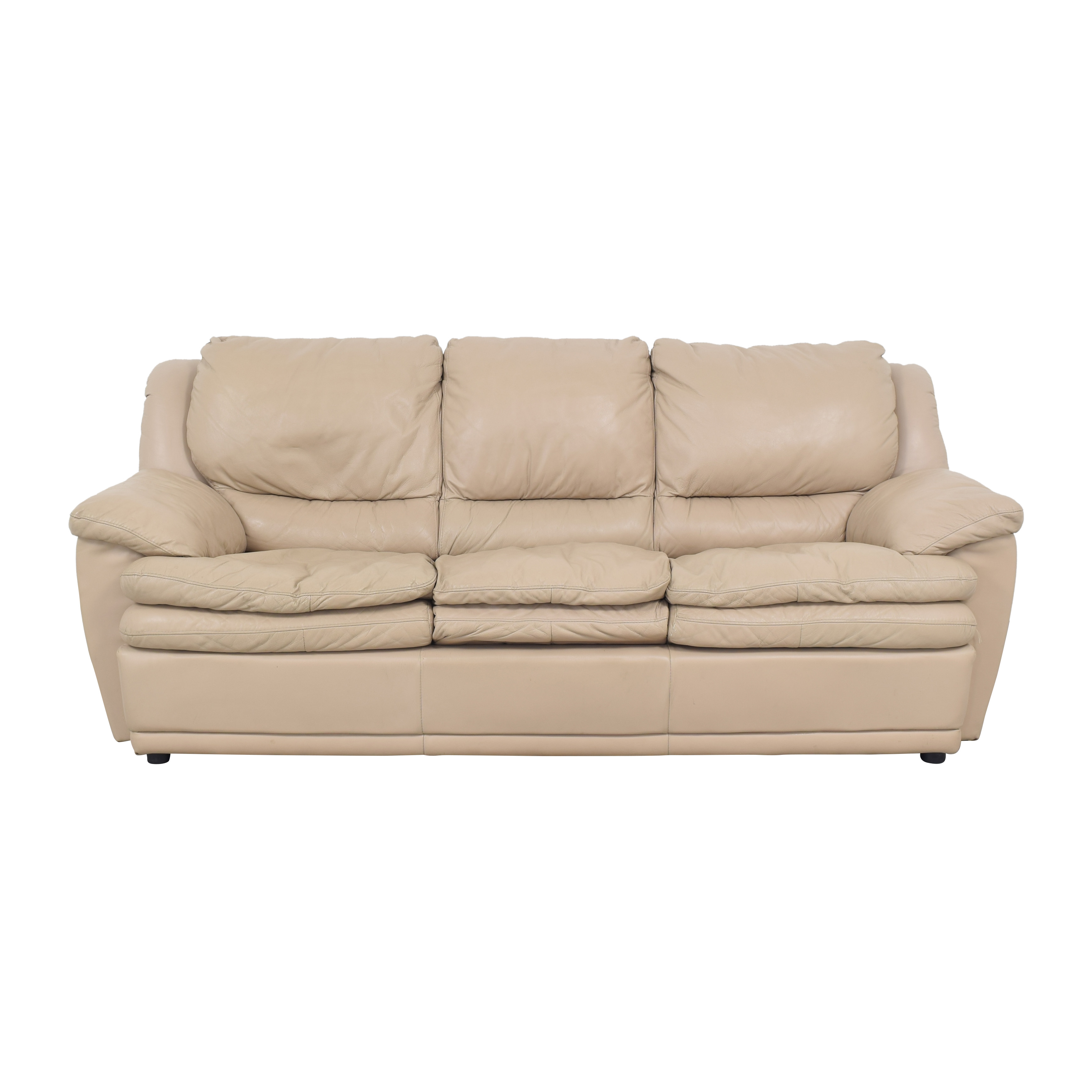 DeCoro Leather Sleeper Sofa sale