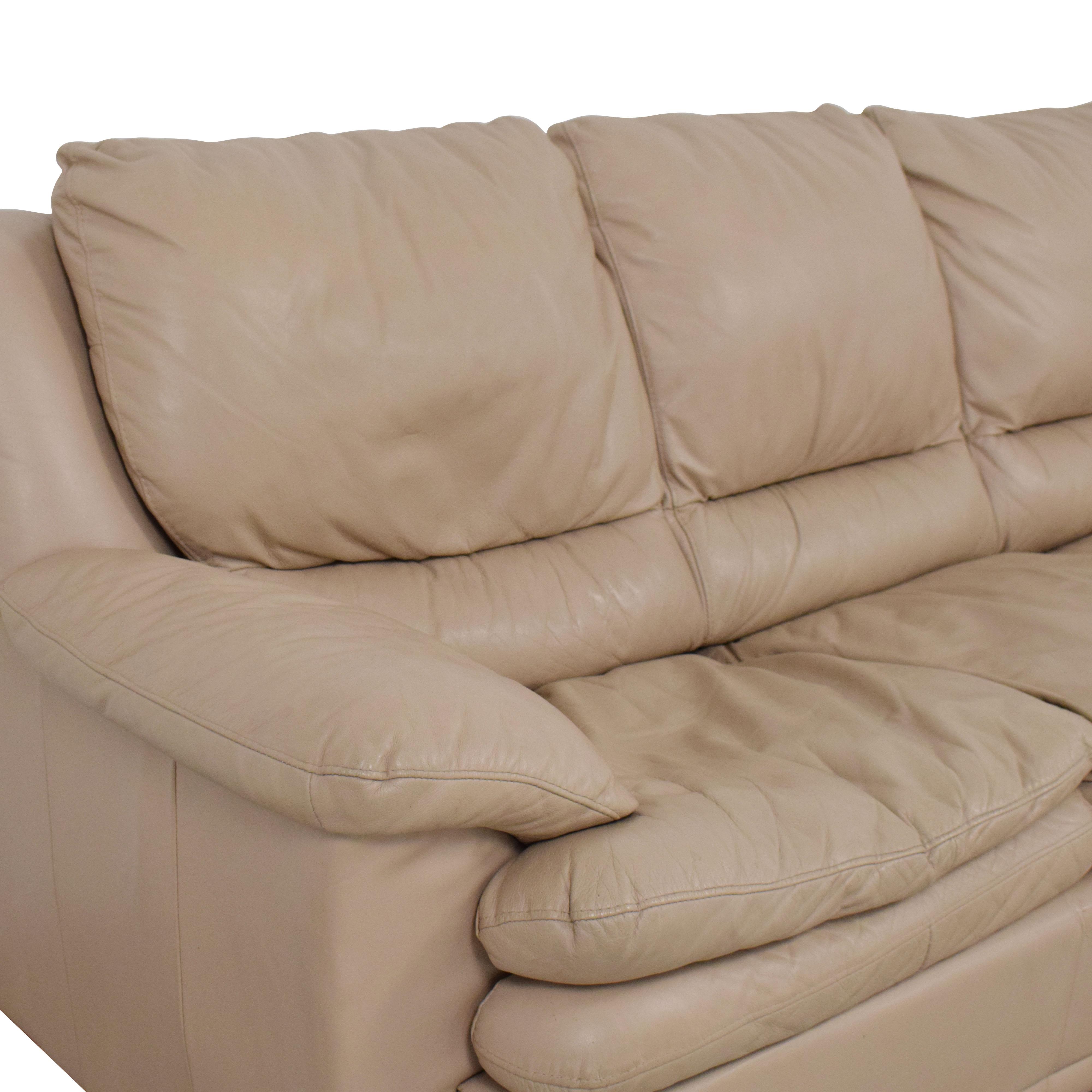 Decoro Leather Sleeper Sofa Sofas
