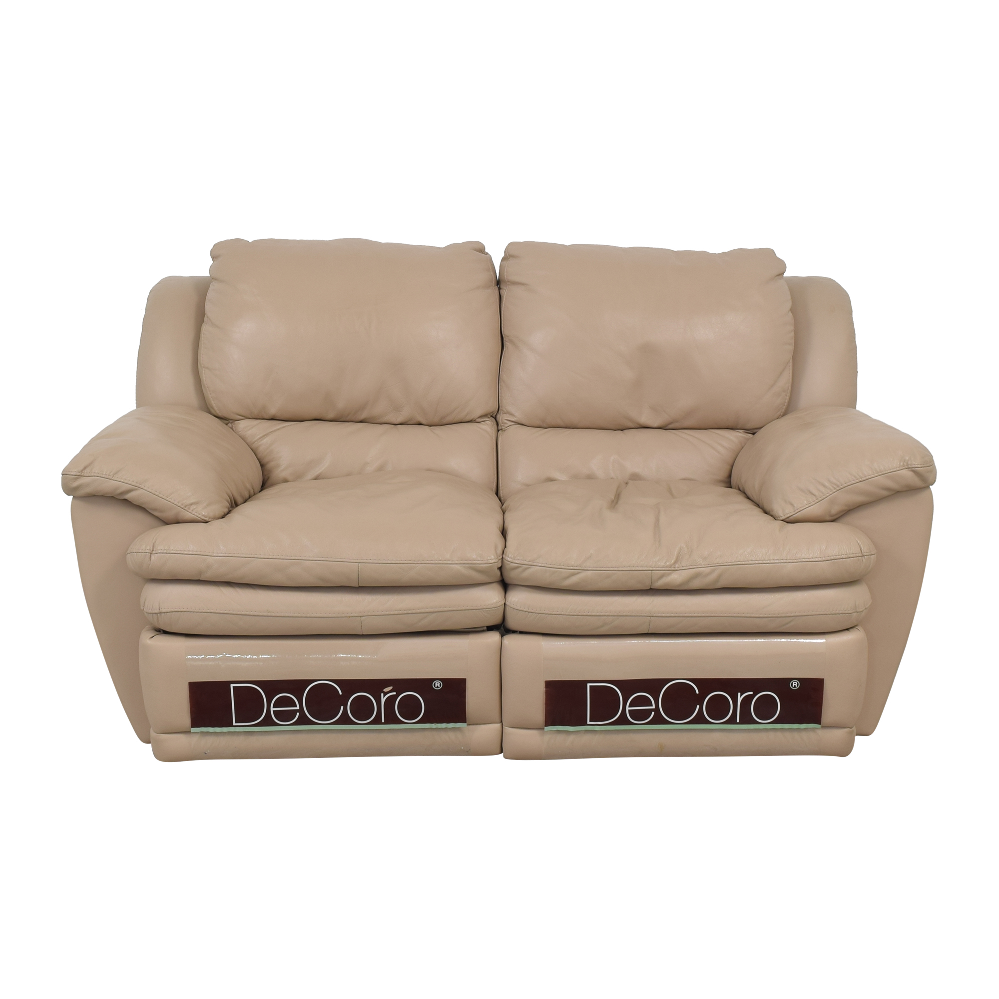 DeCoro DeCoro Reclining Loveseat Loveseats