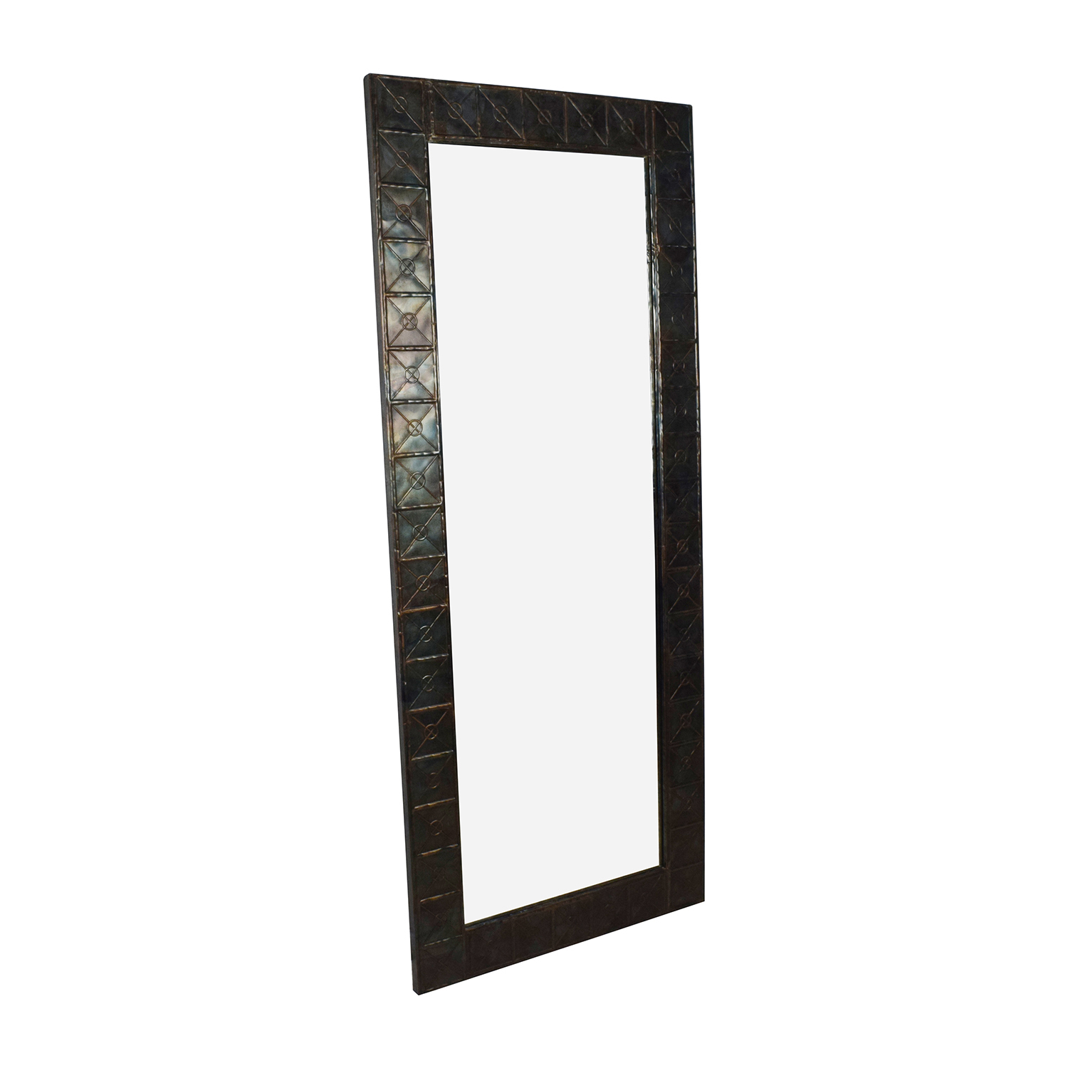 West Elm West Elm Metal Framed Mirror discount