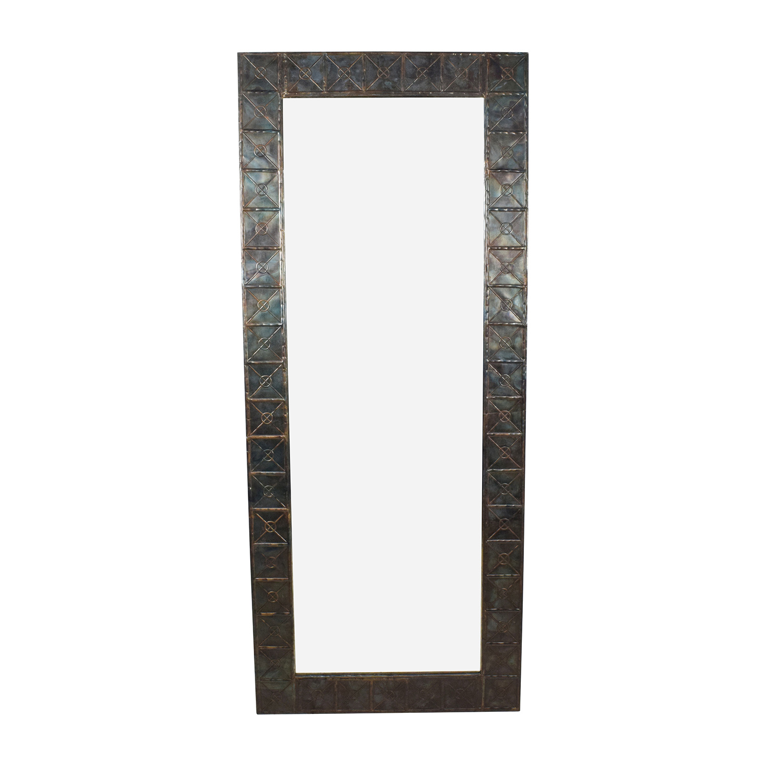 shop West Elm West Elm Metal Framed Mirror online