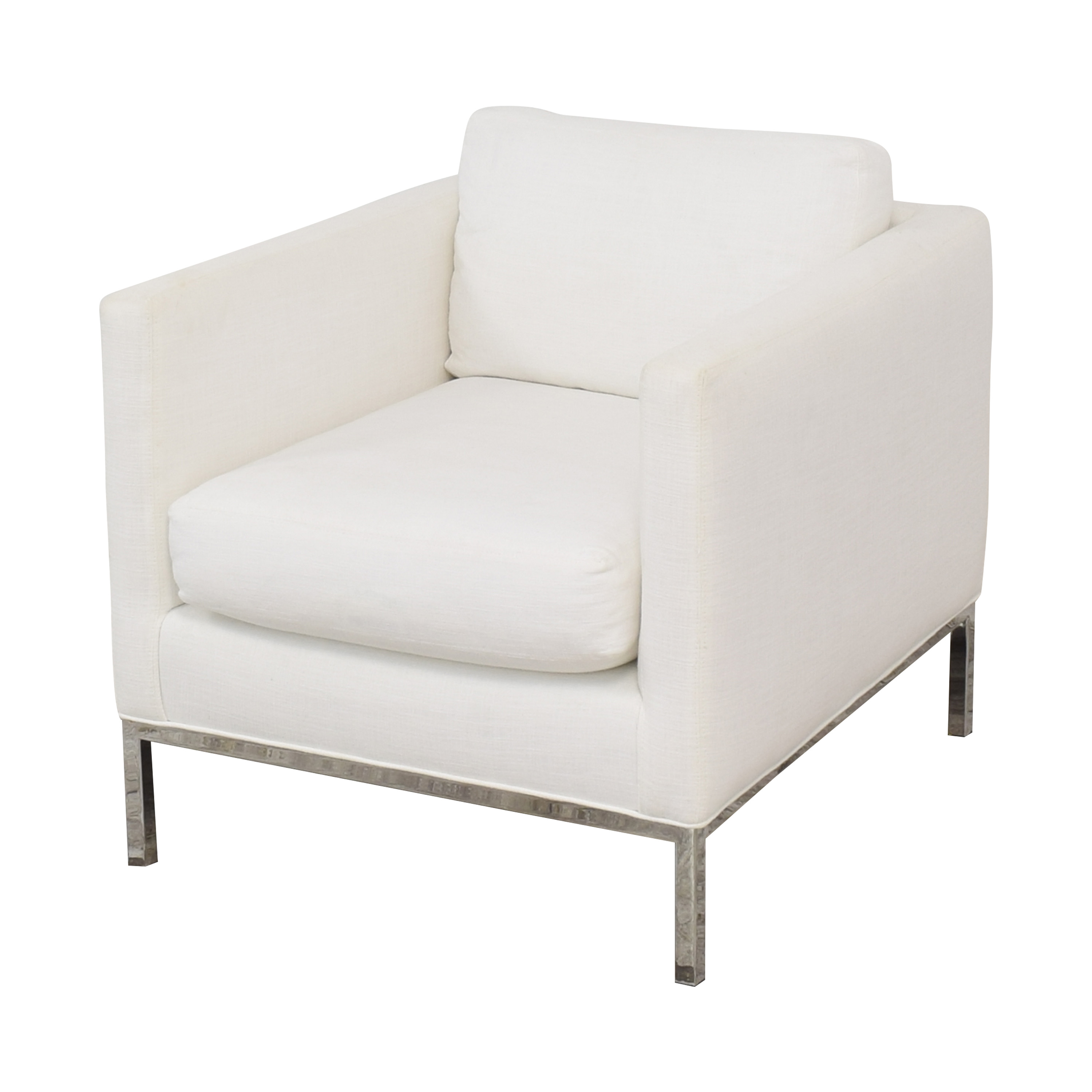 Lee Industries Lee Industries Modern Club Chair White